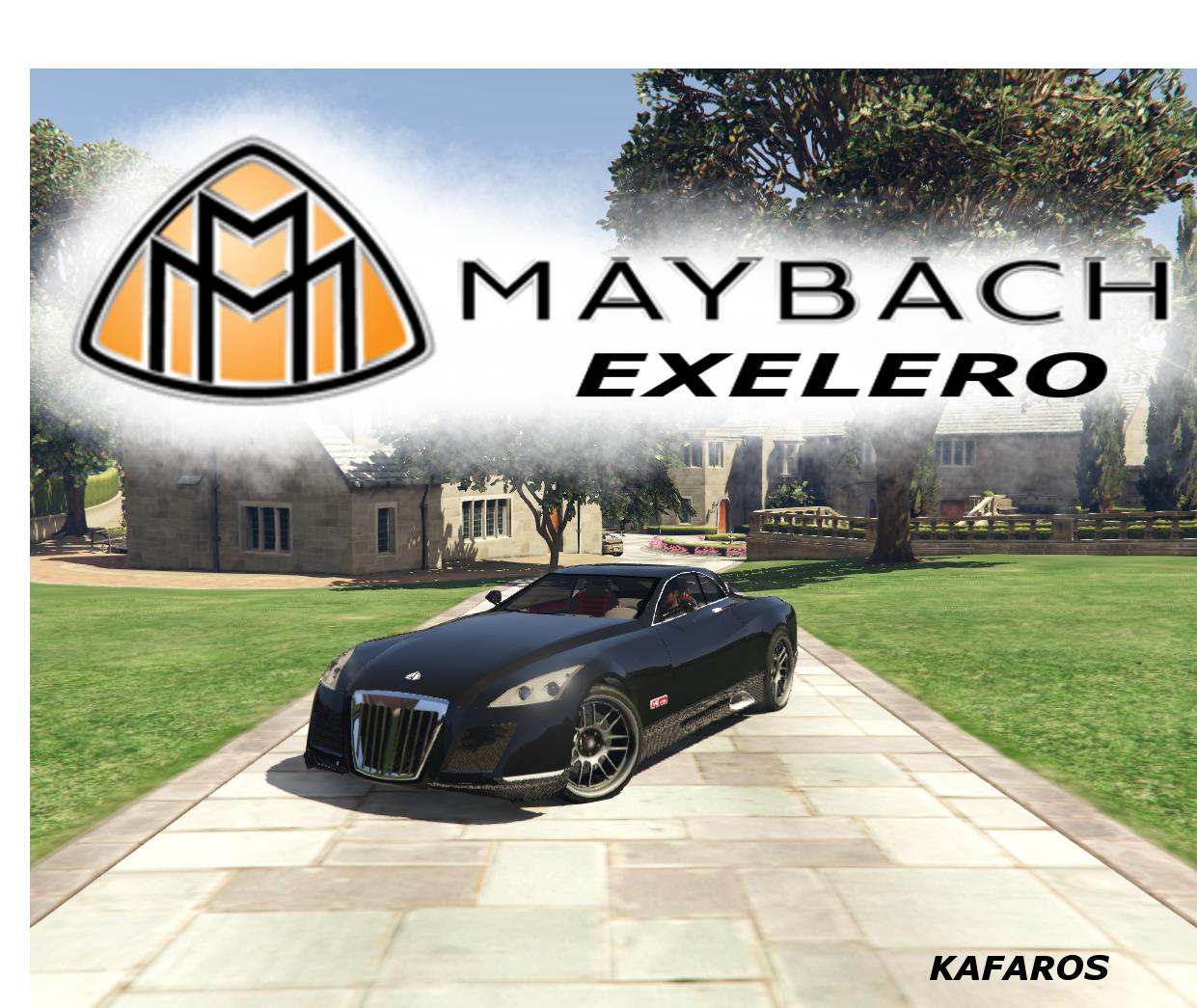 Gta 4 Vehicles Img For Backup Mod: Maybach Exelero