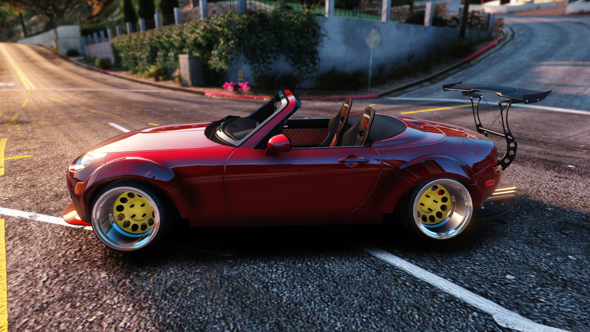 Mazda Mx5 Widebody Stanced Add On Gta5 Modscom