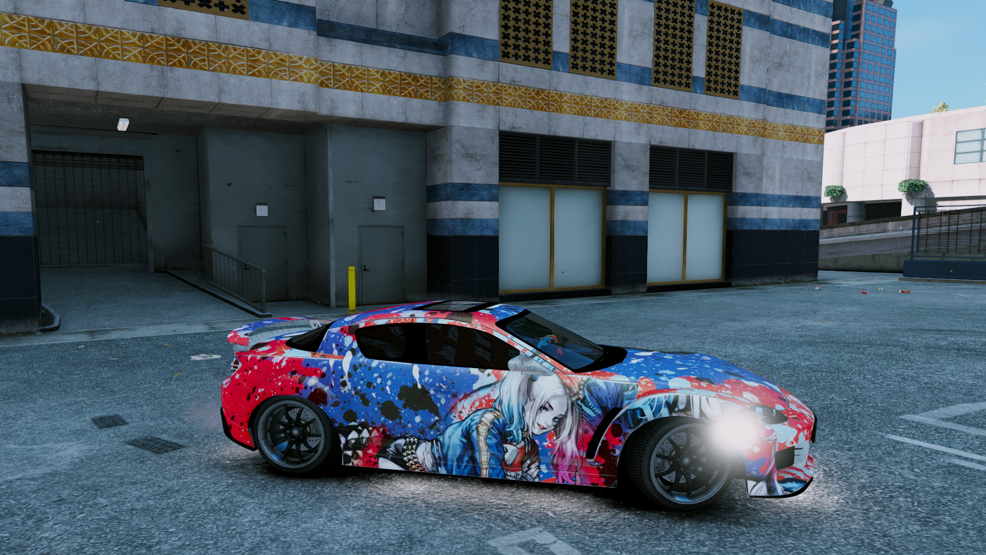 How Much Is A Car Paint Job >> Mazda Rx 8 Mazdaspeed Harley Quinn Paint Job Livery 4k