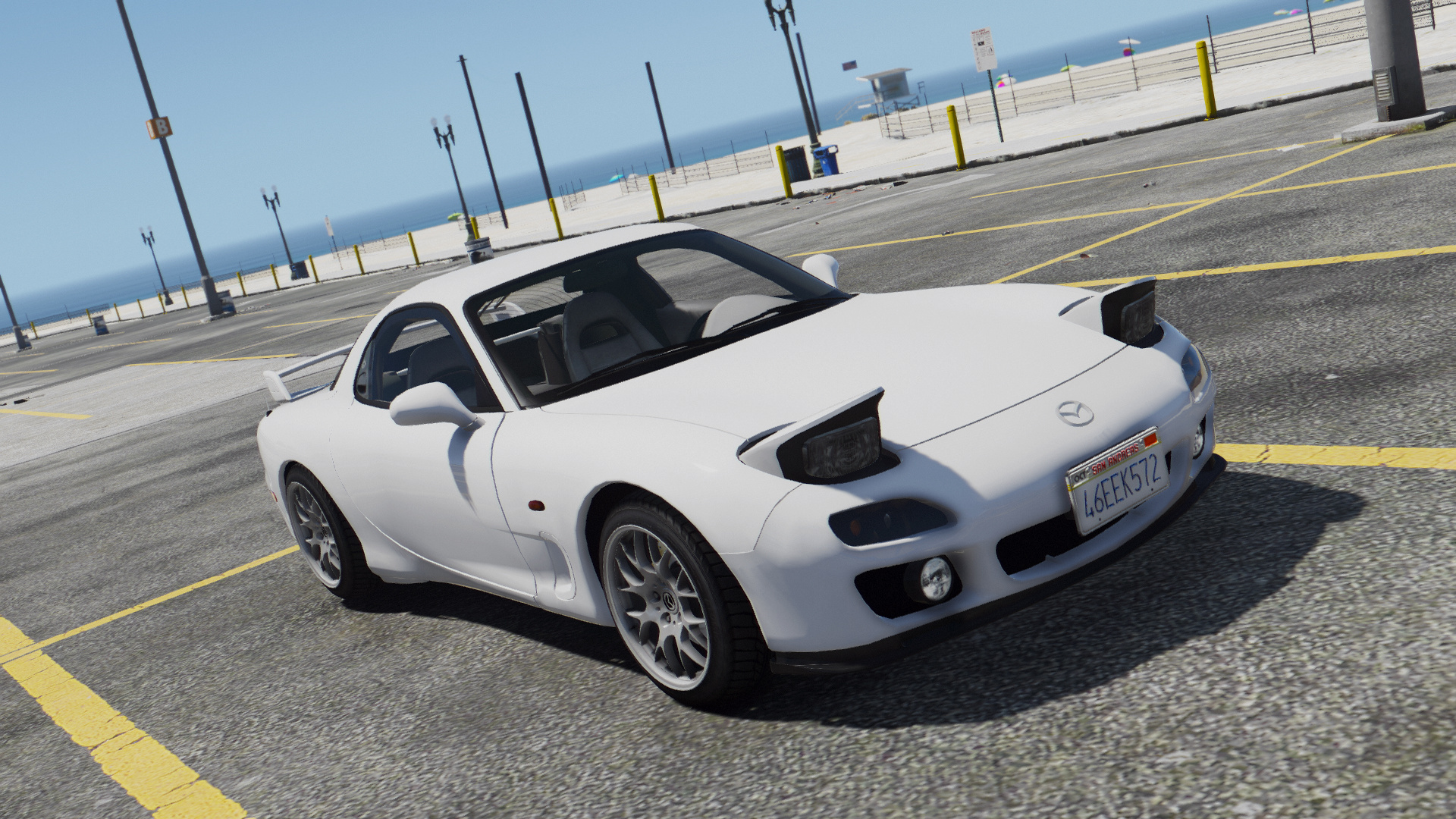 mazda rx7 fd3s add on replace tuning livery template gta5. Black Bedroom Furniture Sets. Home Design Ideas