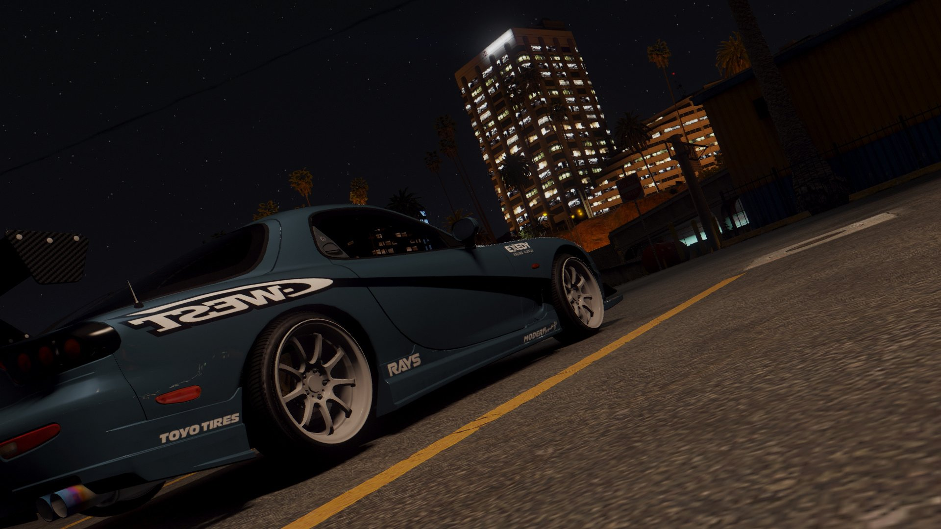 mazda rx7 fd3s [add-on / replace   tuning   livery   template