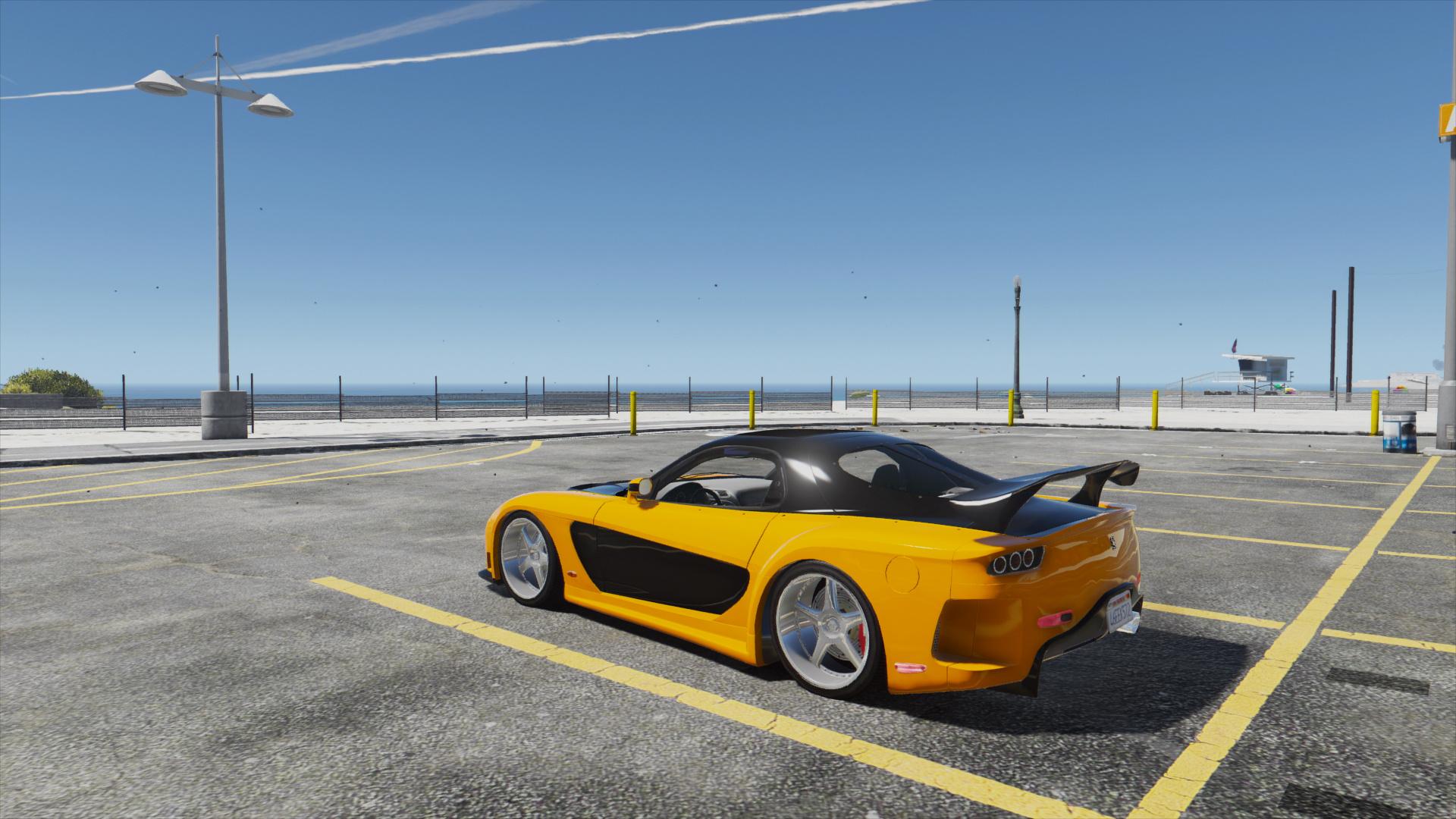 Mazda RX7 Veilside Fortune [Add-On / Replace   Livery] - GTA5-Mods com