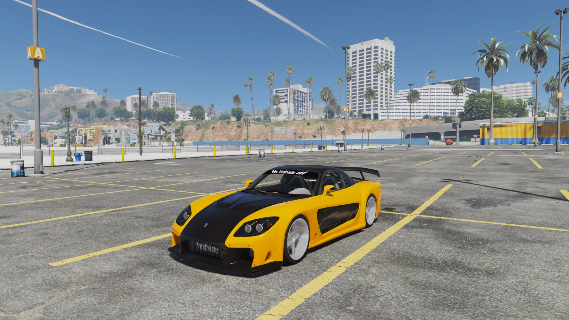 mazda rx7 veilside fortune [add-on / replace | livery] - gta5-mods