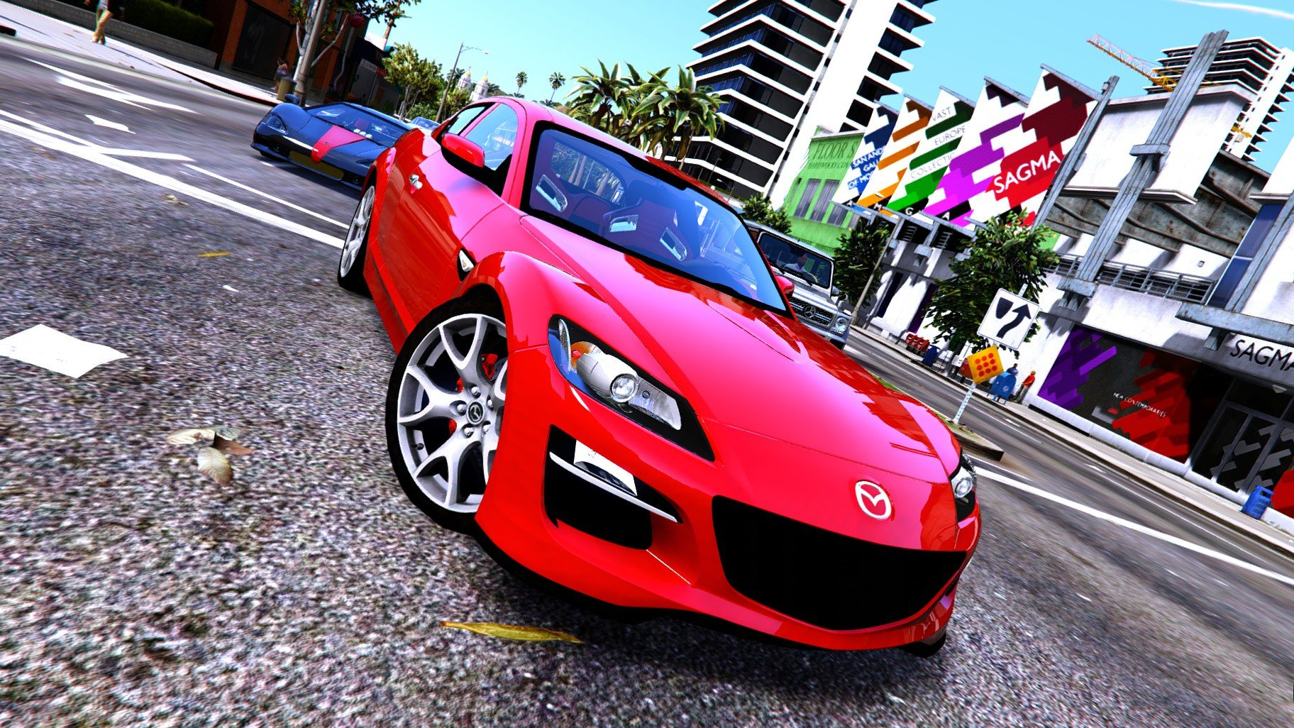 mazda rx8 spirit r 2012 add on replace tuning gta5. Black Bedroom Furniture Sets. Home Design Ideas