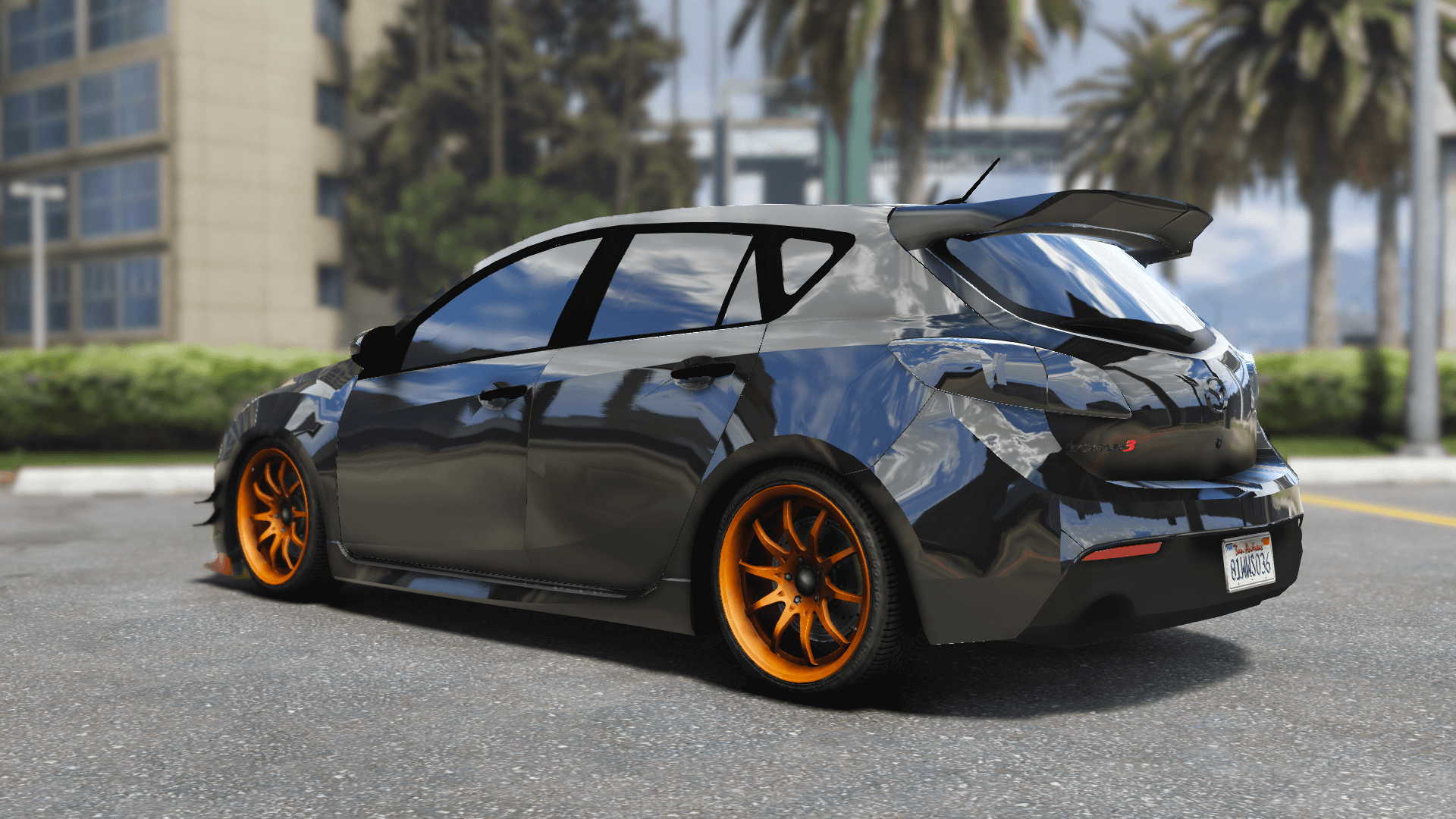 2010 mazda 3 modify add on template tuning gta5. Black Bedroom Furniture Sets. Home Design Ideas