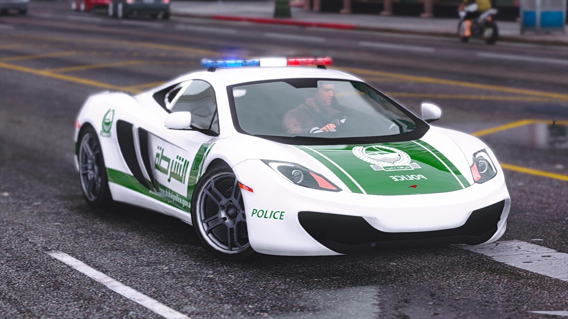 Mclaren Mp4 12c Dubai Police Gta5 Mods Com