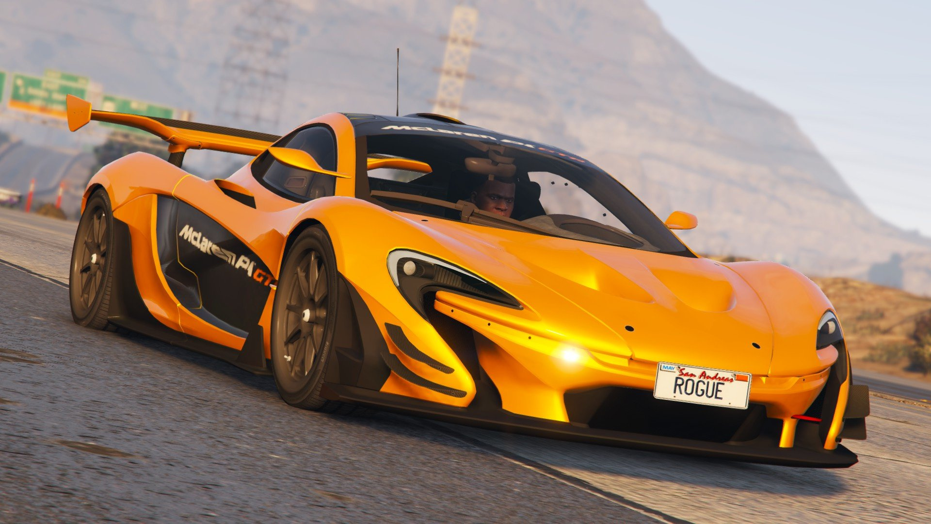 mclaren p1 gtr road legal add on replace gta5. Black Bedroom Furniture Sets. Home Design Ideas