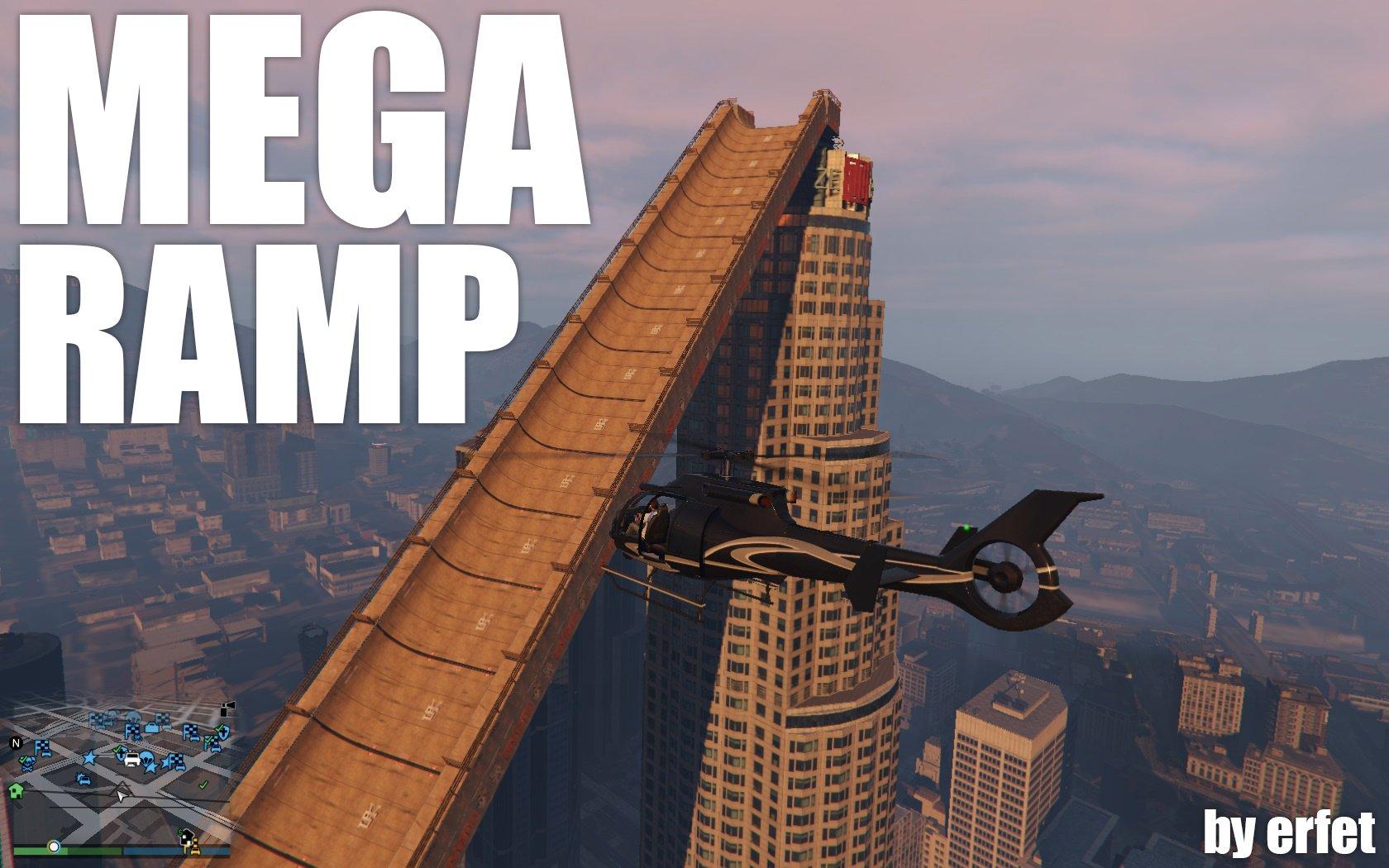Mega Ramp [objects ini] - GTA5-Mods com