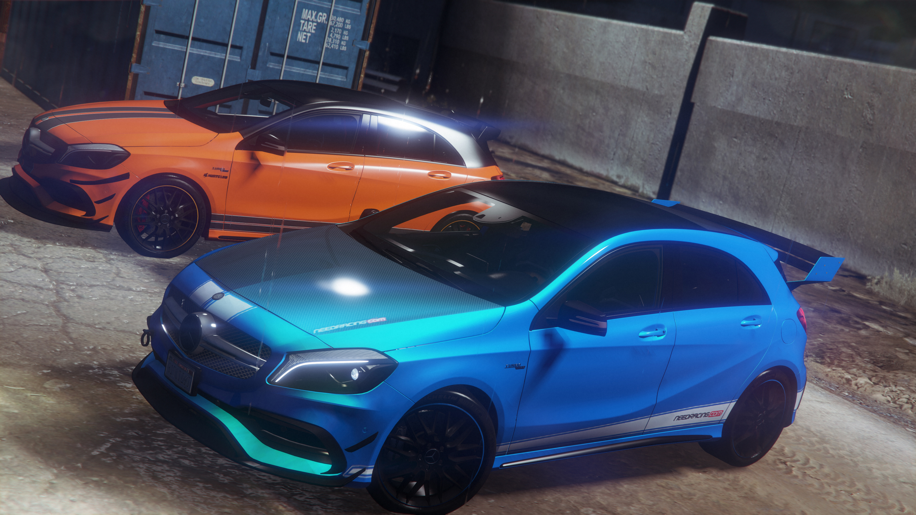 2017 Mercedes Amg A45 W176 Add On Replace Template Gta5 Mods Com