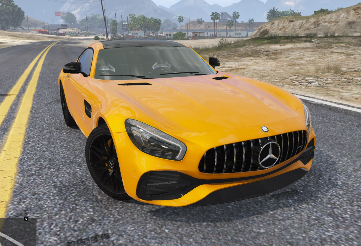 Mercedes Amg Gt S 2017 Add On Auto Spoiler Tuning Gta5 Mods Com