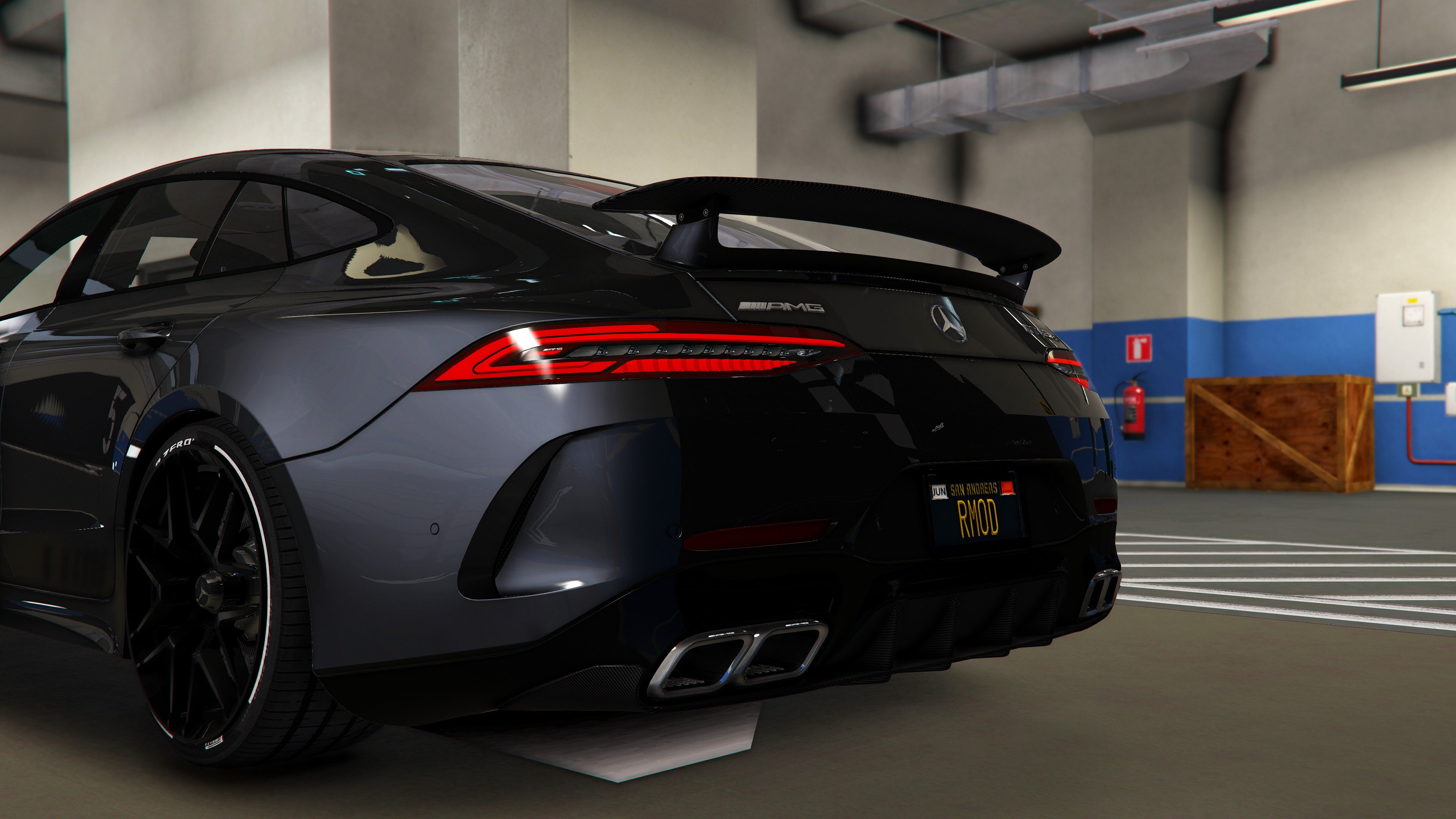 Mercedes Amg Gt63 S Coupe Add On Oiv Tuning Gta5 Mods Com