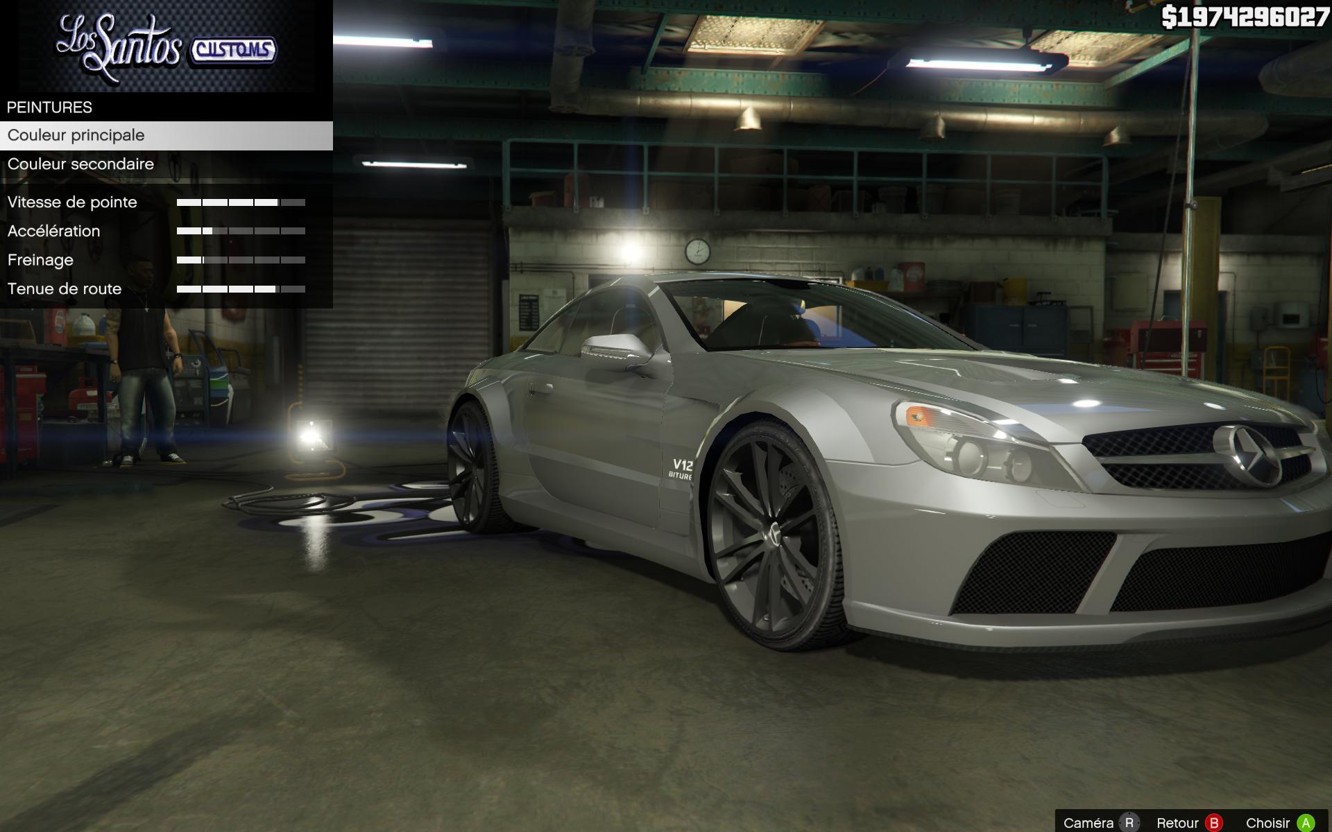 Mercedes AMG SL 65 Black Series  GTA5Modscom