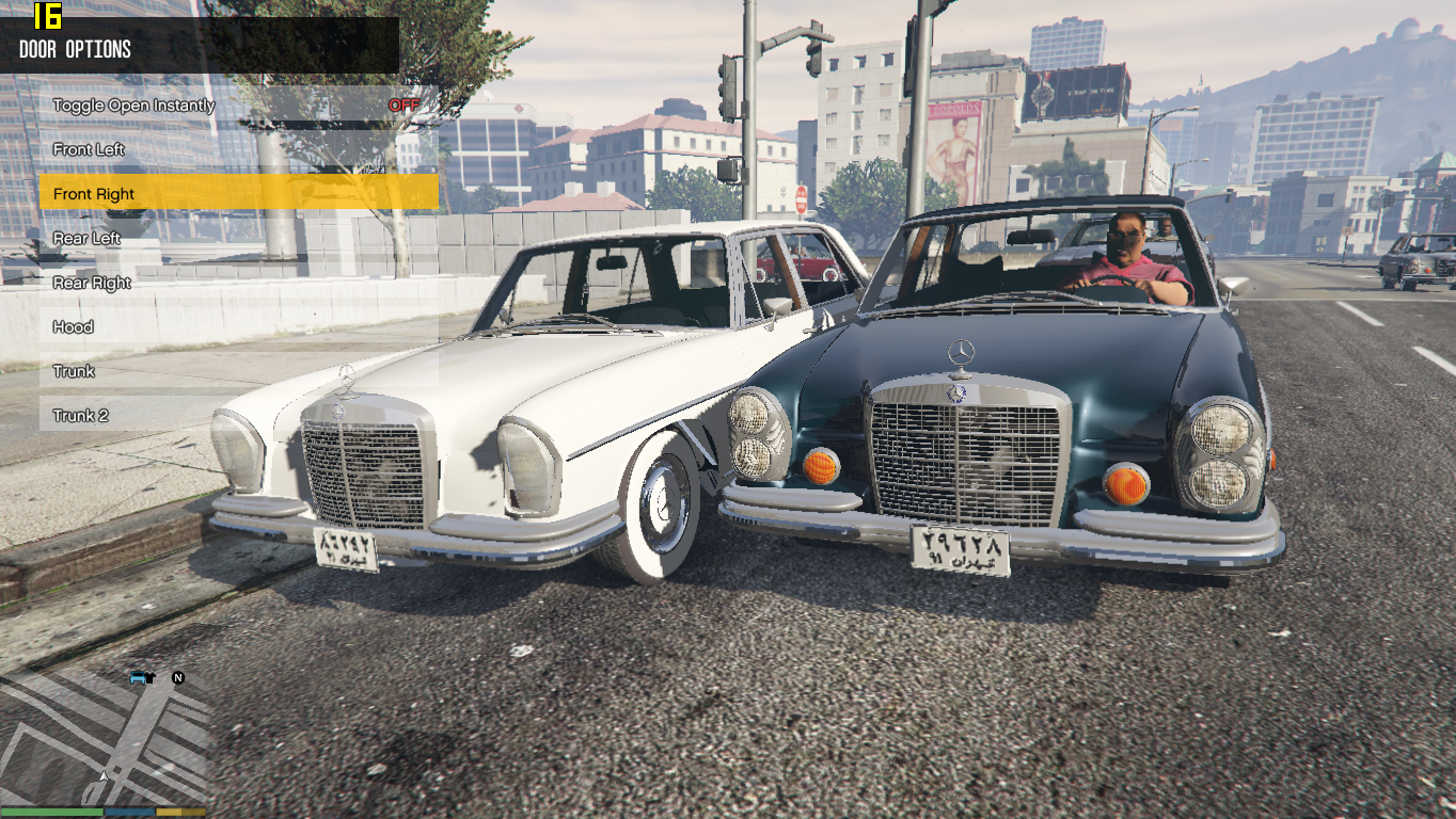 1971 mercedes benz 280s w108 gta5 for Mercedes benz gta