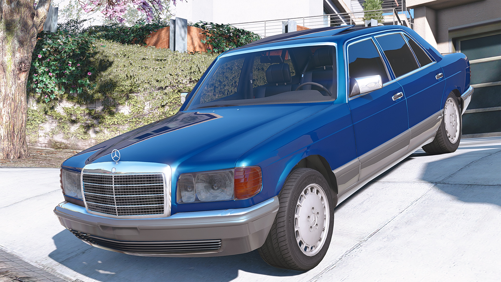 1990 mercedes benz 560sel w126 add on replace animated gta5
