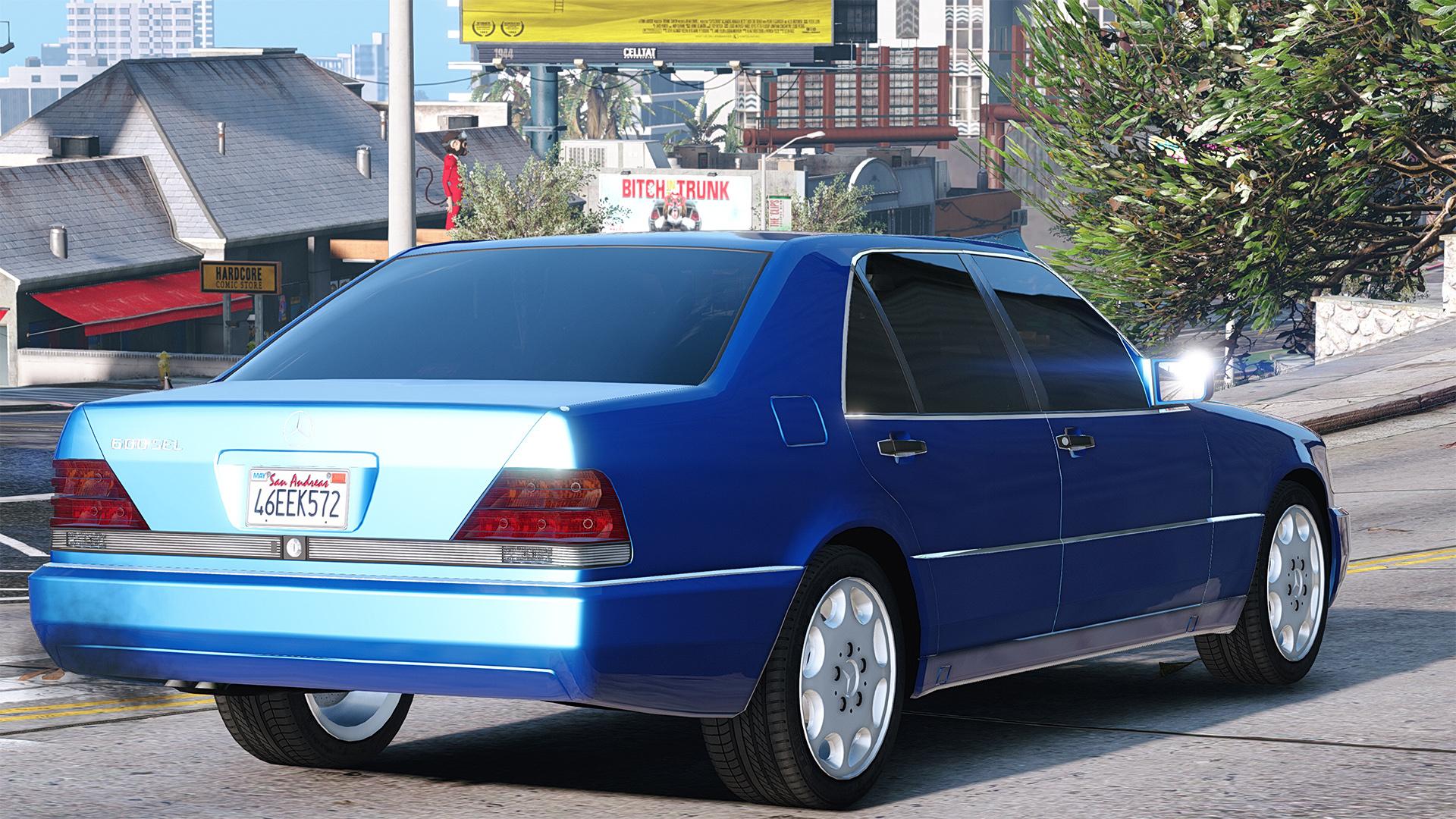 Mercedes-Benz 600 SEL W140 Add-On / Replace - GTA5-Mods.com