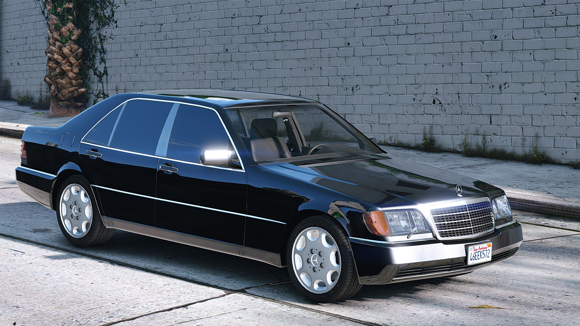 mercedes benz 600 sel w140 add on replace gta5. Black Bedroom Furniture Sets. Home Design Ideas