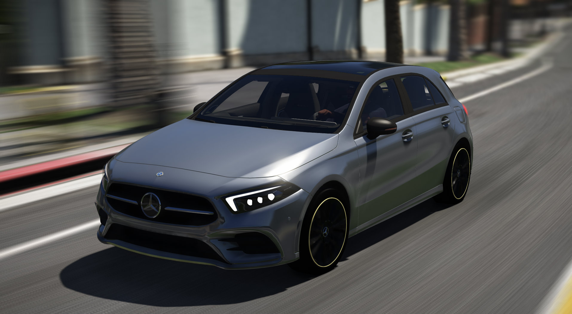 Mercedes benz a class 2019 add on gta5 for Mercedes benz a class