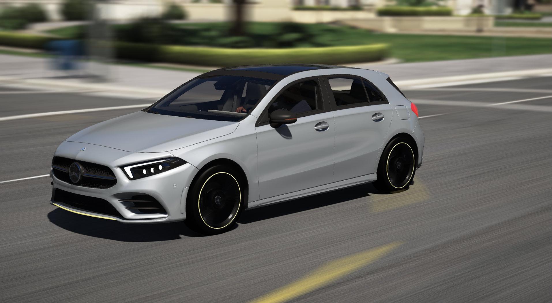 Mercedes benz a class 2019 add on gta5 for A class mercedes benz