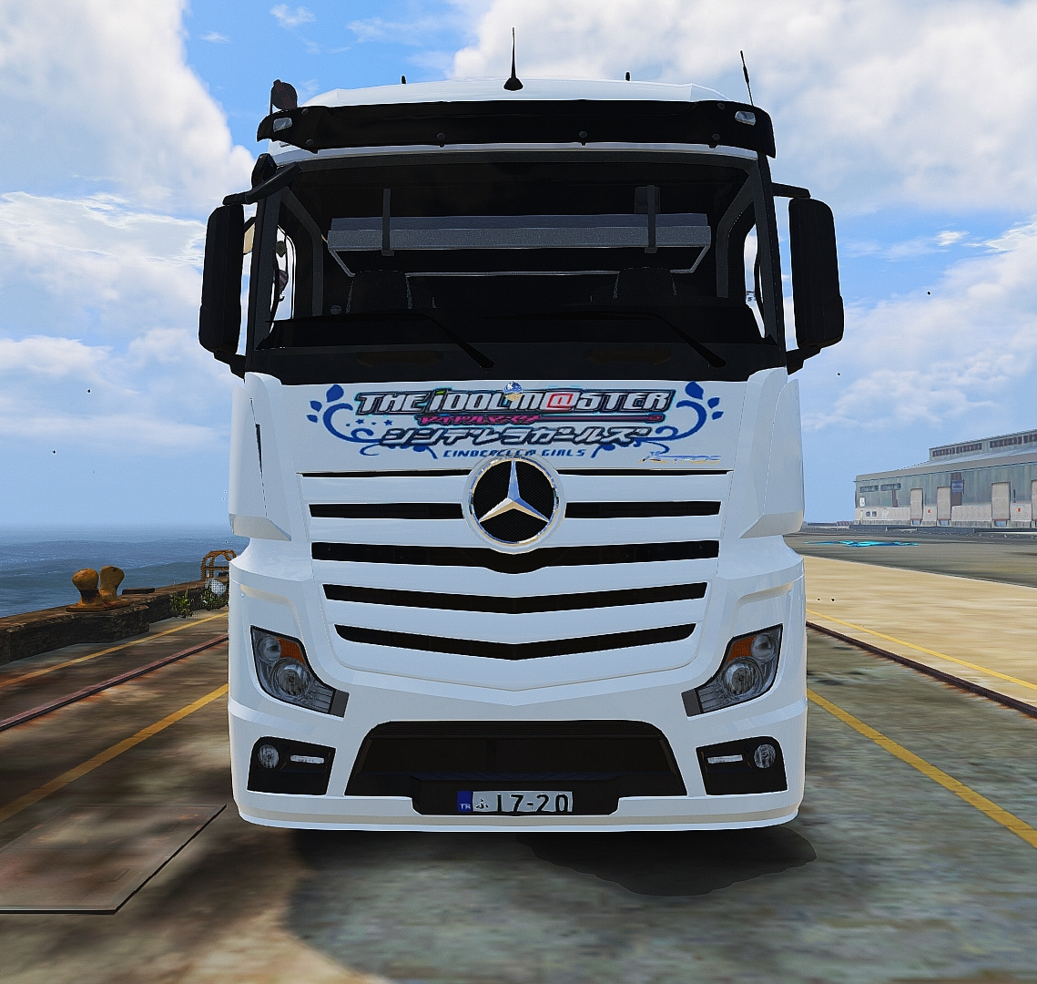 mercedes benz actros mp4 4x2 trains itasha livery gta5. Black Bedroom Furniture Sets. Home Design Ideas