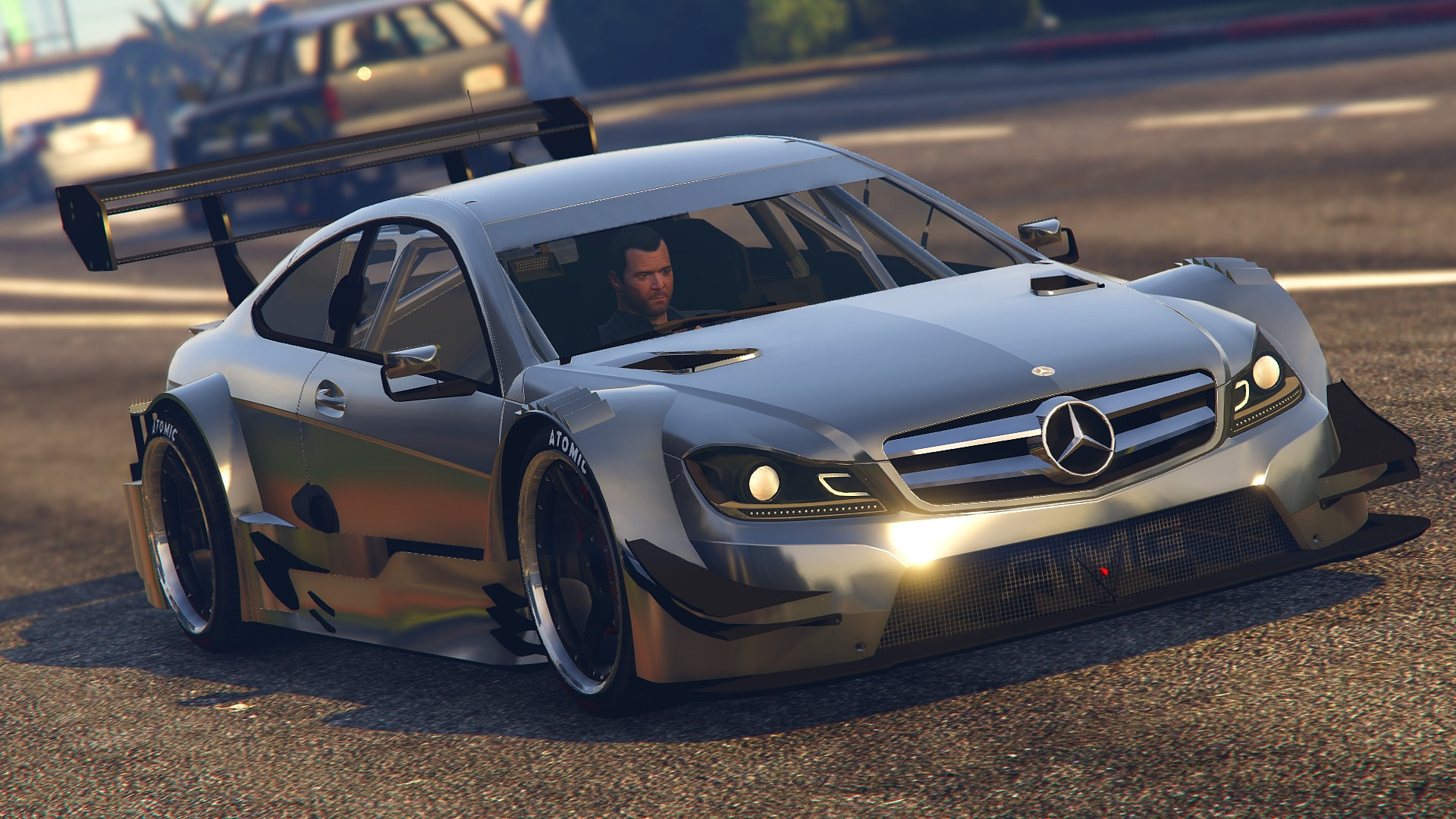 2013 Mercedes Benz Amg Dtm C204 Gta5 Mods Com