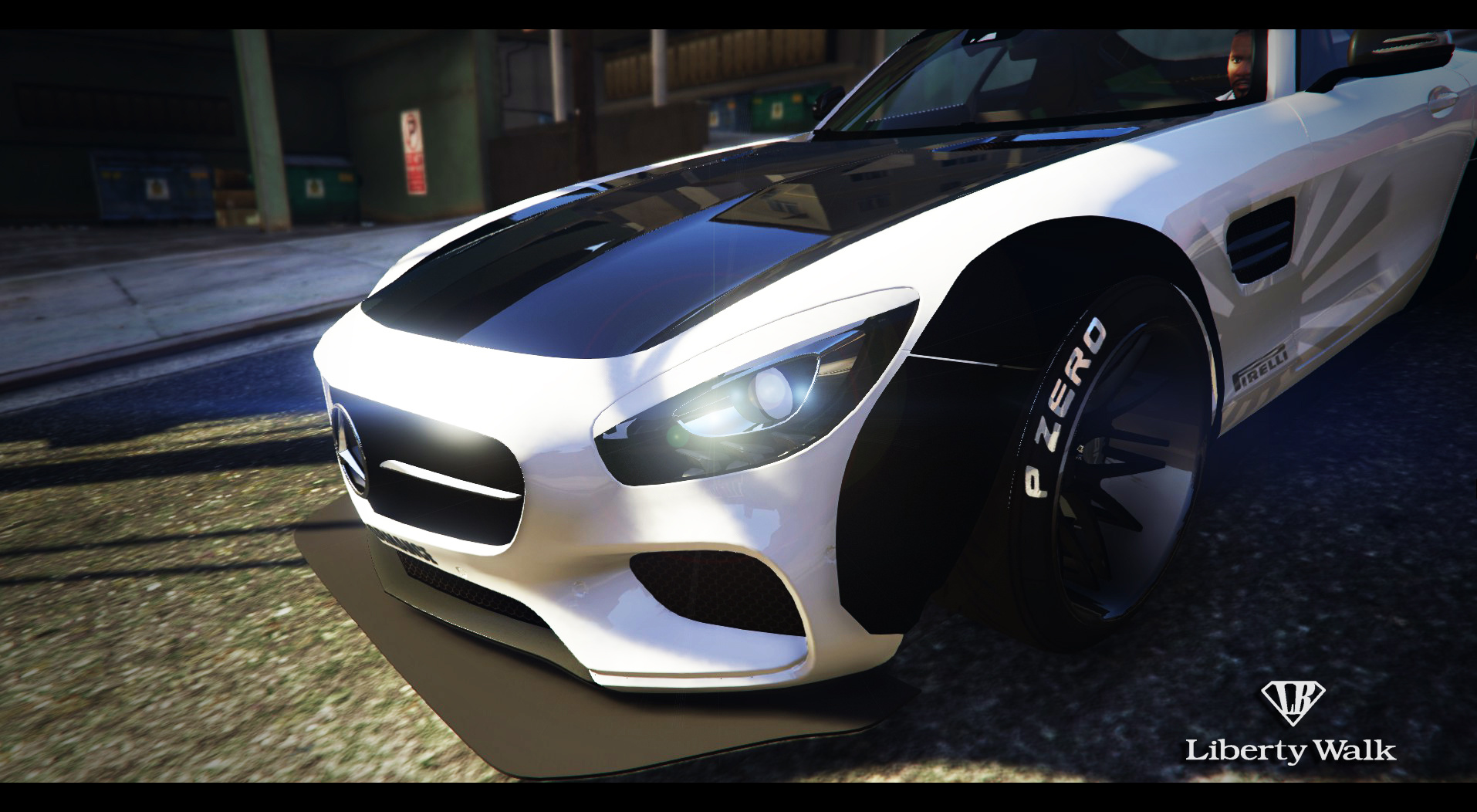 mercedes benz amg gt 2016 libertywalk gta5. Black Bedroom Furniture Sets. Home Design Ideas