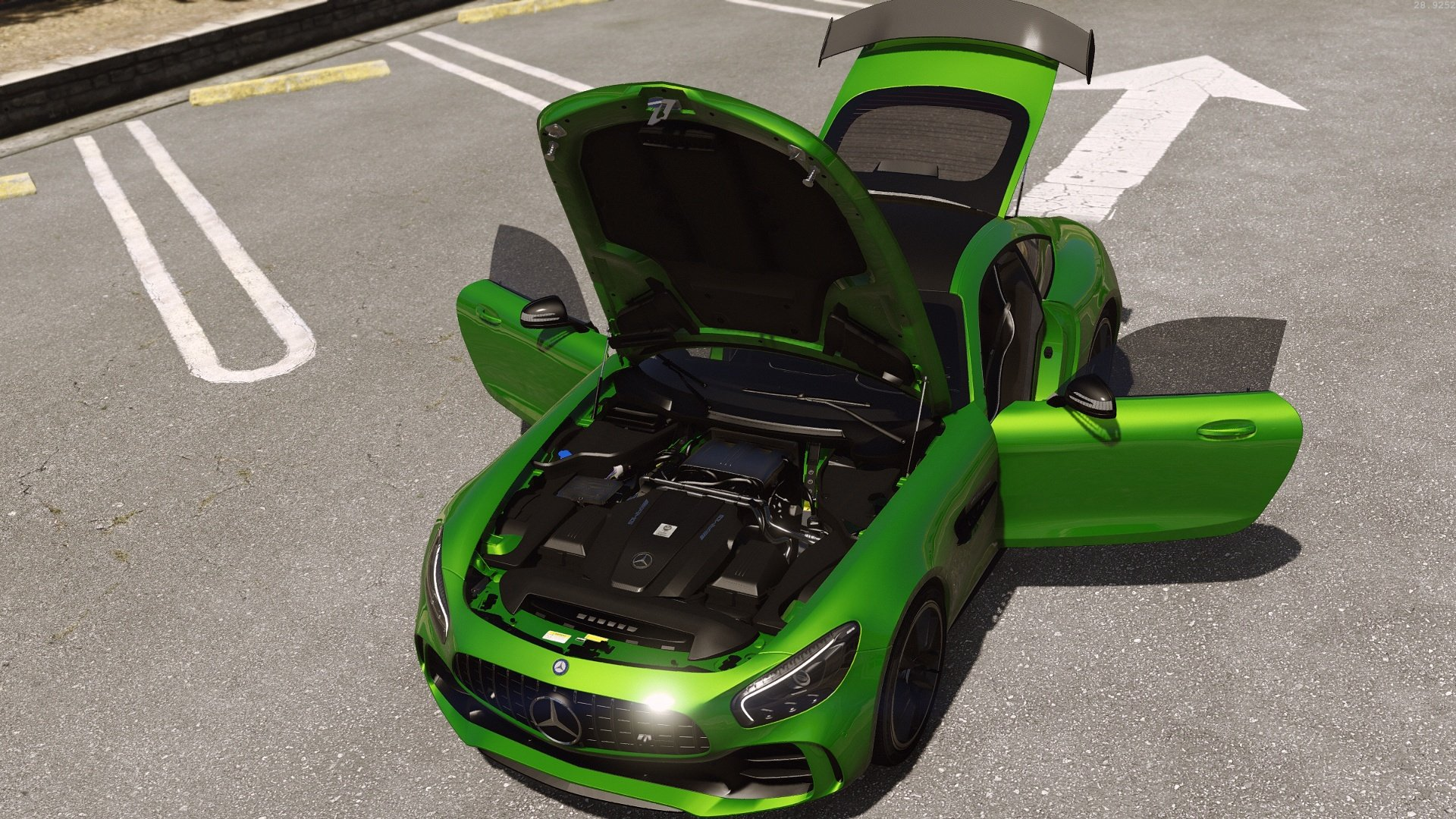 Mercedes Benz Amg Gt R 2017 Add On Replace Gta5 Mods Com