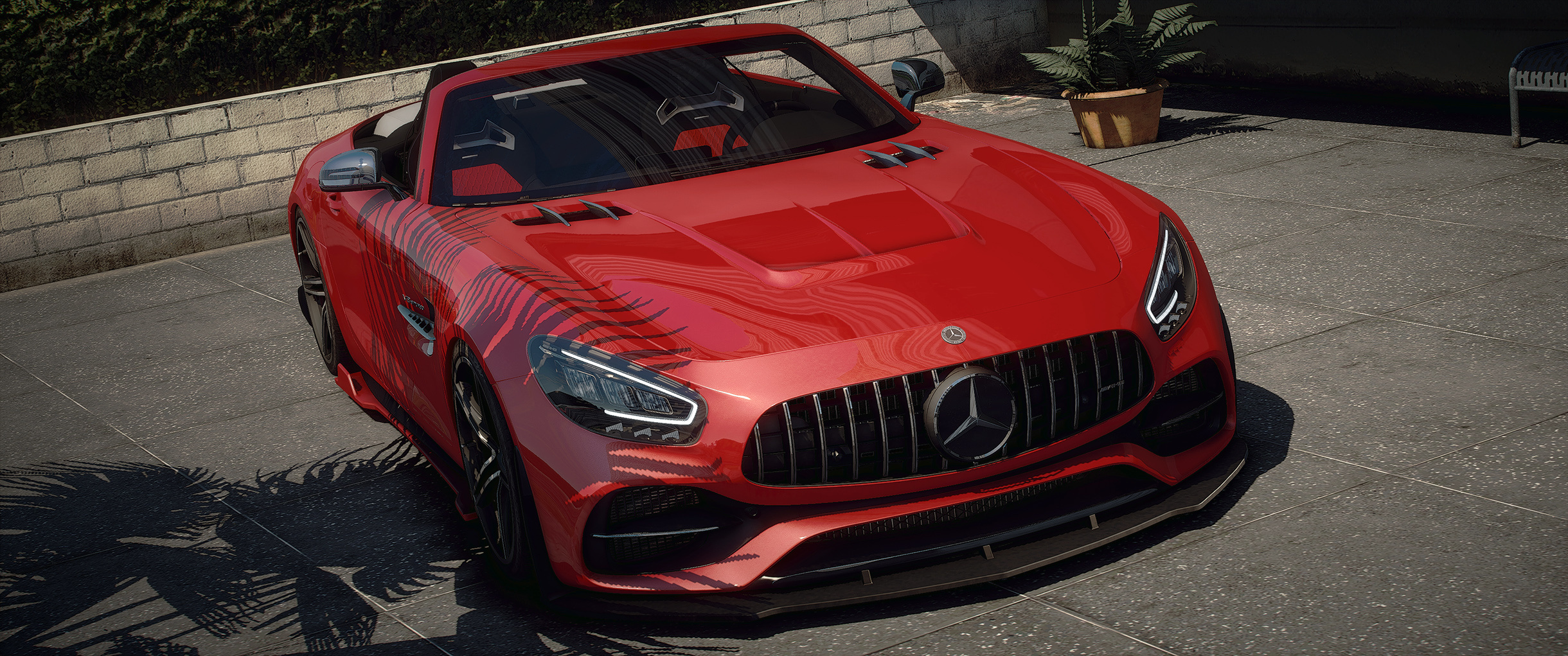 Mercedes Benz Amg Gt R C Roadster Add On Extras Wheels Tuning Lods Gta5 Mods Com