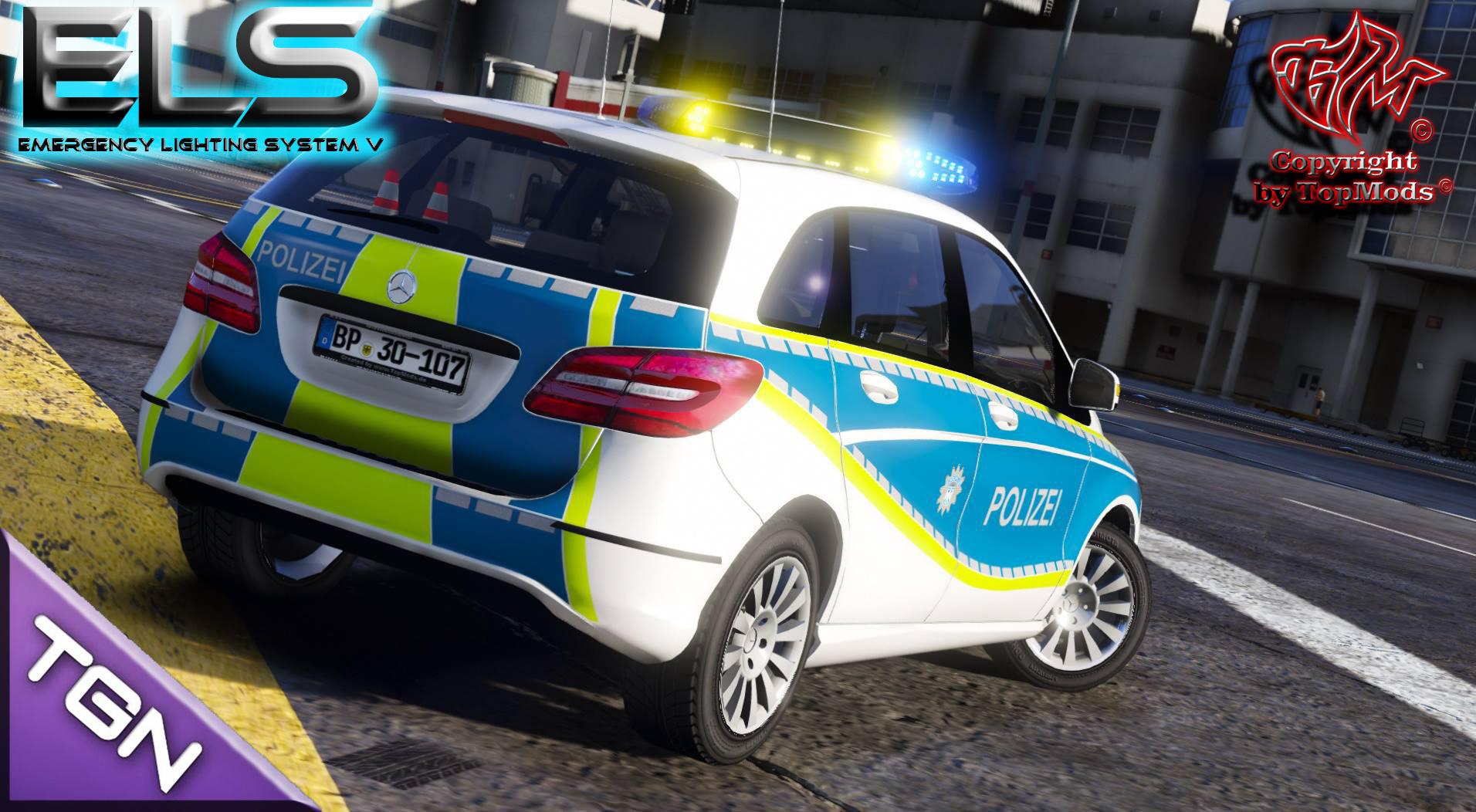 Mercedes Benz B Klasse Bundespolizei GTA5 Mods