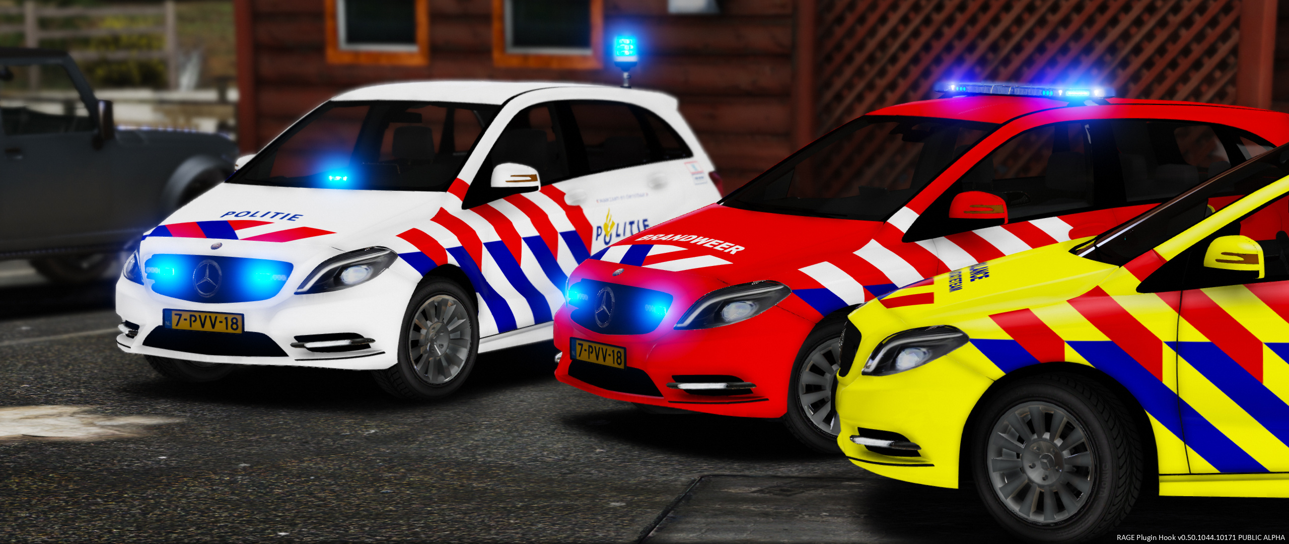 mercedes benz b klasse dutch fire ems service gta5. Black Bedroom Furniture Sets. Home Design Ideas