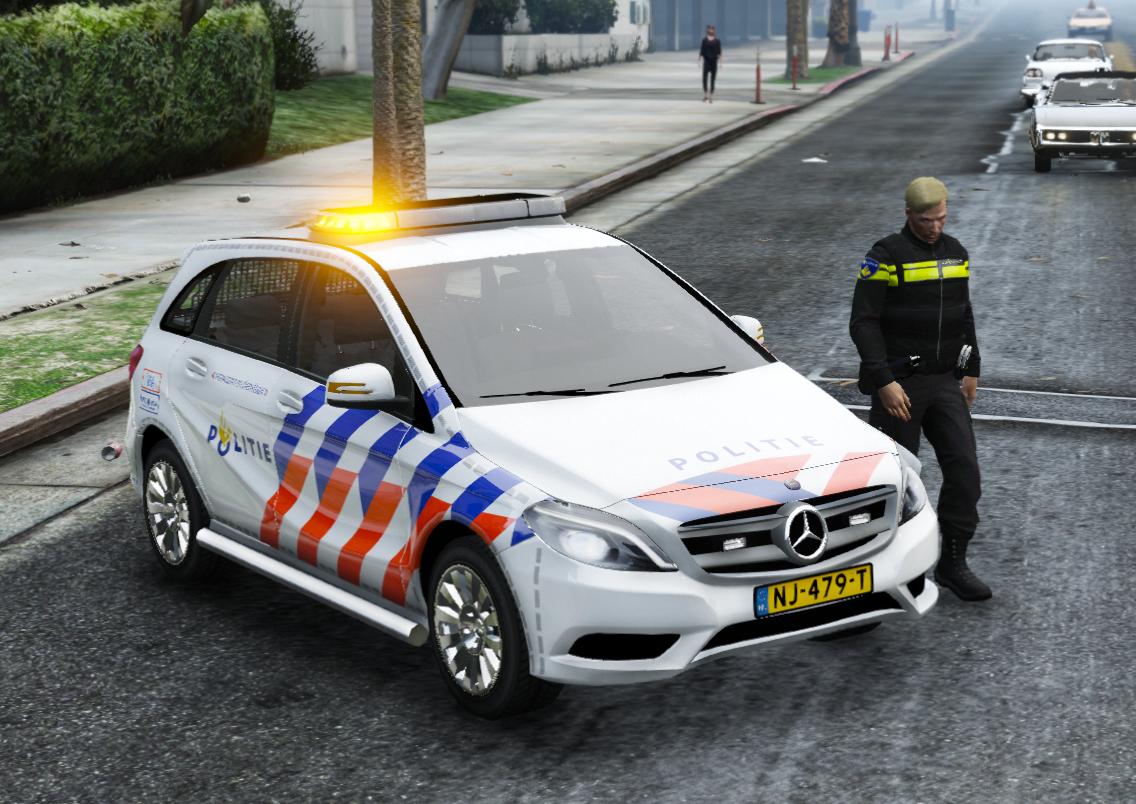 Mercedes benz b klasse politie nederland dutch els 1 0 for Mercedes benz nl