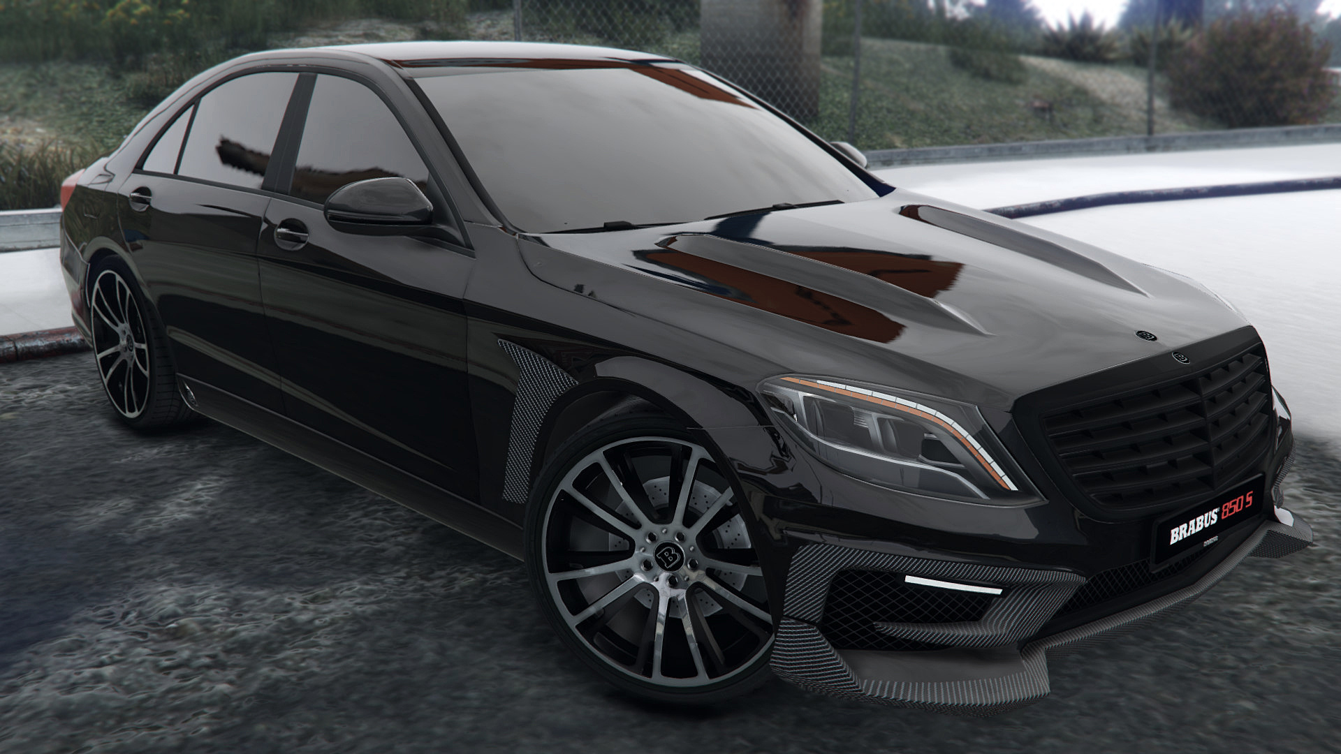 Mercedes benz brabus 850 s class replace gta5 for Mercedes benz 850