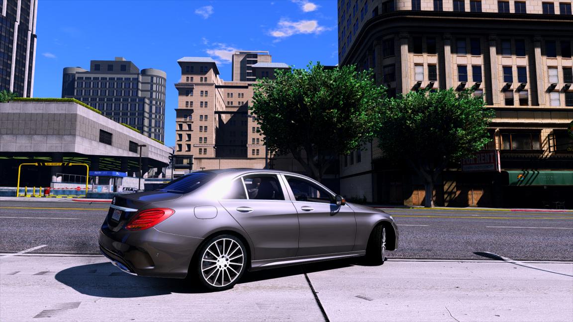 Mercedes benz c250 sedan 2014 add on gta5 for Mercedes benz c 250 2014