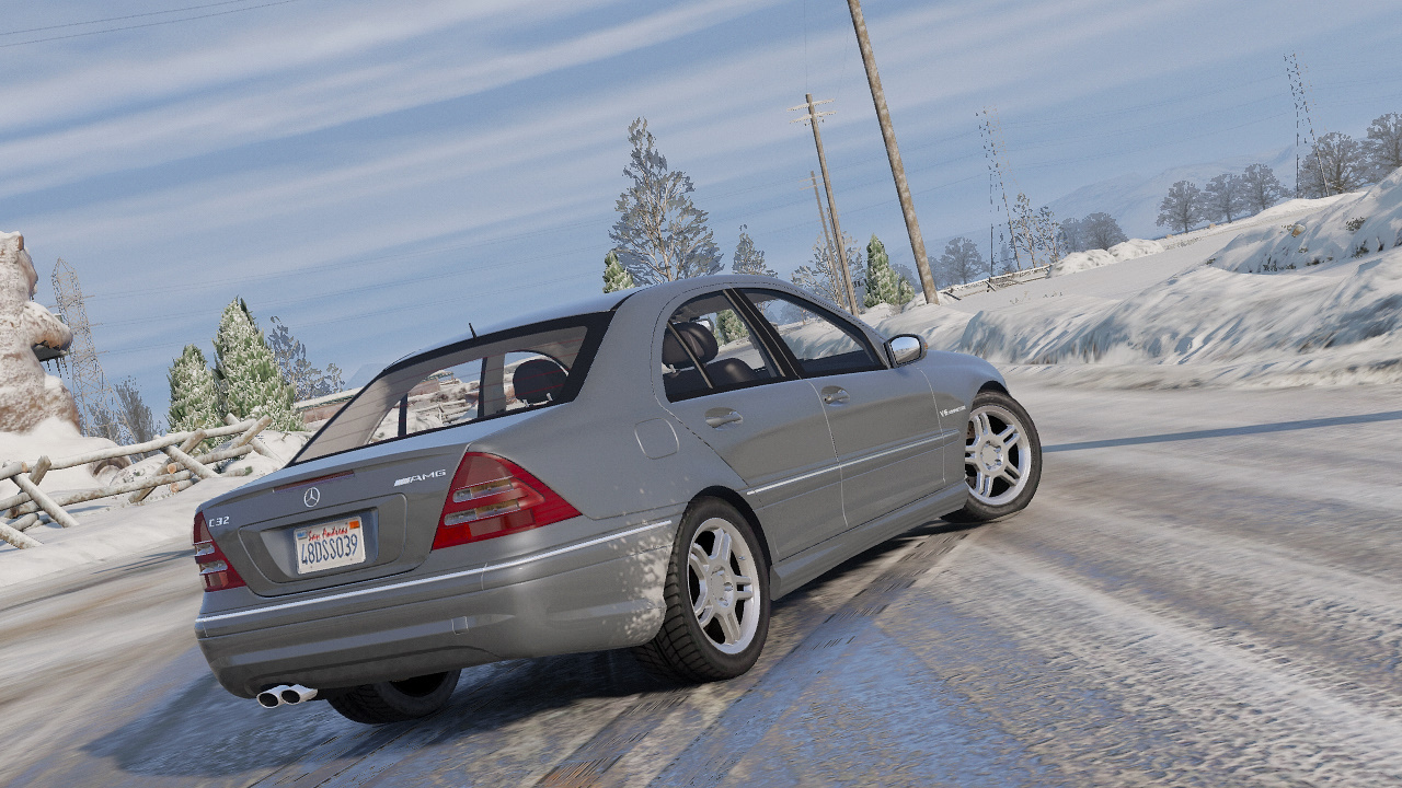 Mercedes-Benz C32 AMG 2004 [Add-On / Replace   HQ] - GTA5
