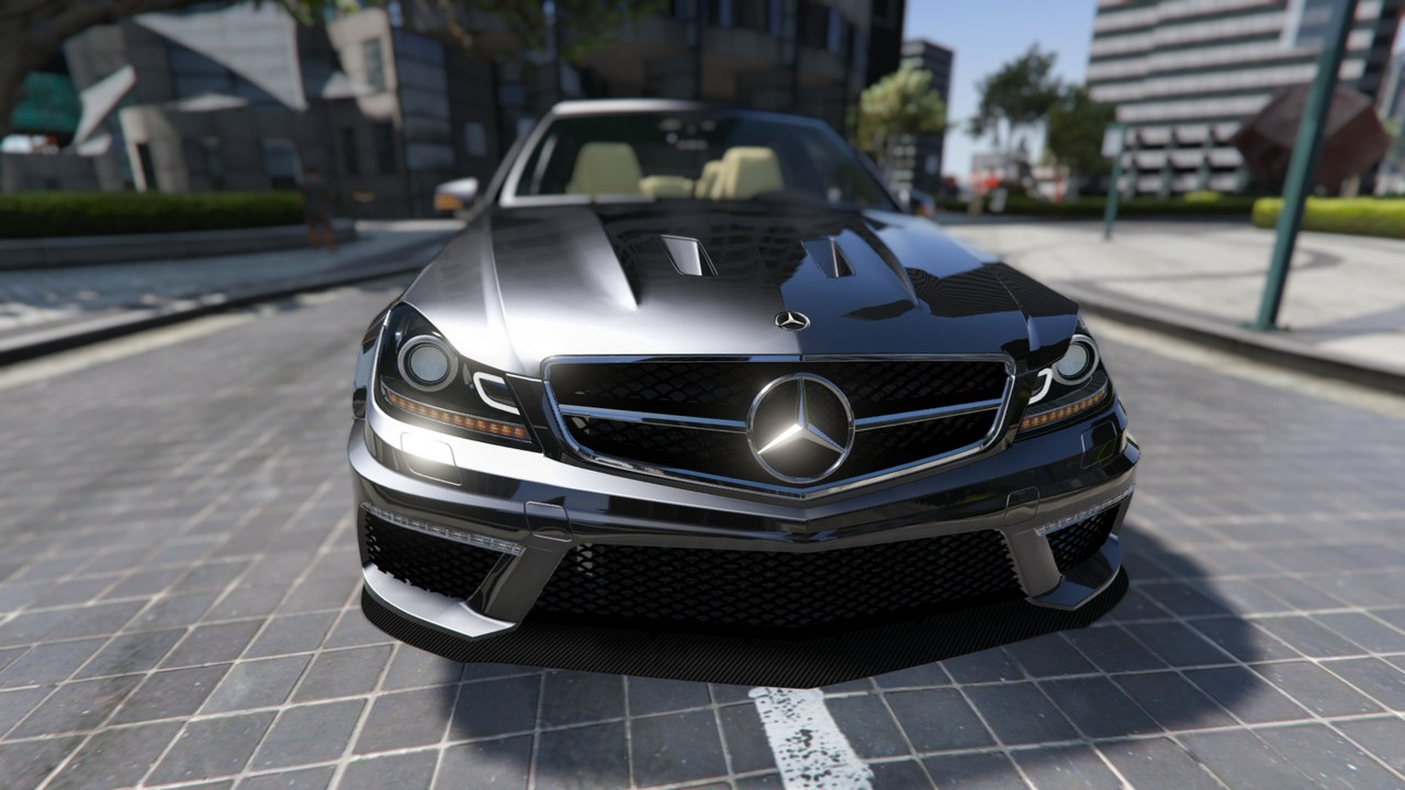 Mercedes benz c63 amg 2013 add on templated gta5 for Mercedes benz c63