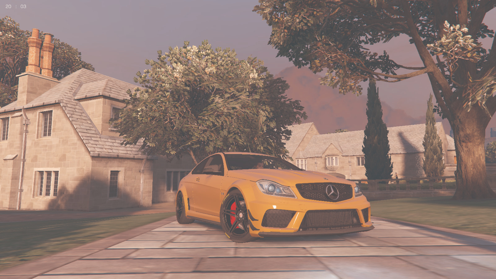 Mercedes-Benz C63 AMG Black Series - GTA5-Mods com