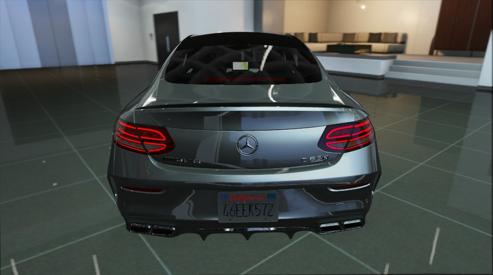 Mercedes benz c63 coupe amg add on replace gta5 for Mercedes benz add