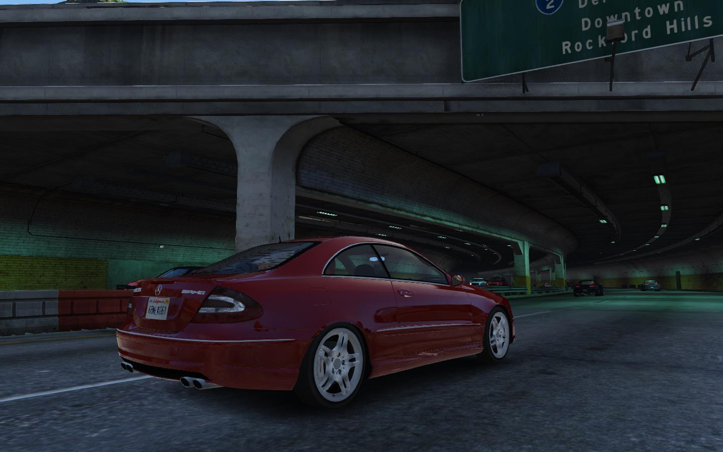 Mercedes benz clk55 amg 39 03 add on wipers gta5 for Mercedes benz clk55 amg