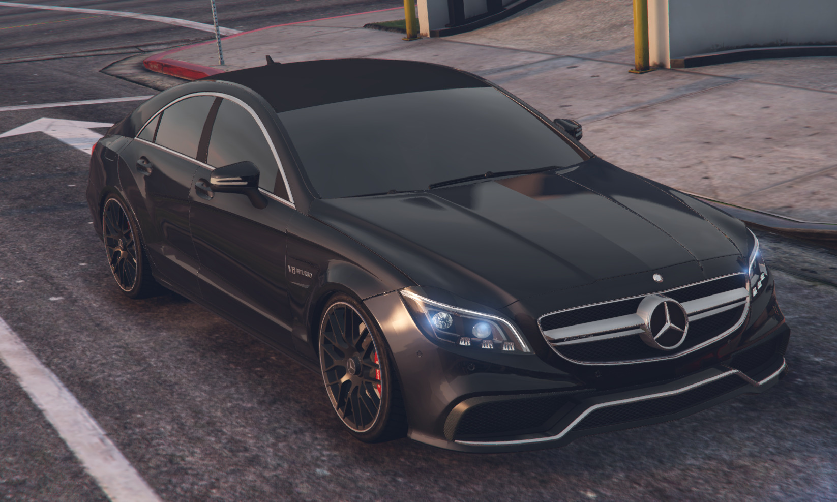 Mercedes Benz Cls 6 3 Amg 2015 Gta5