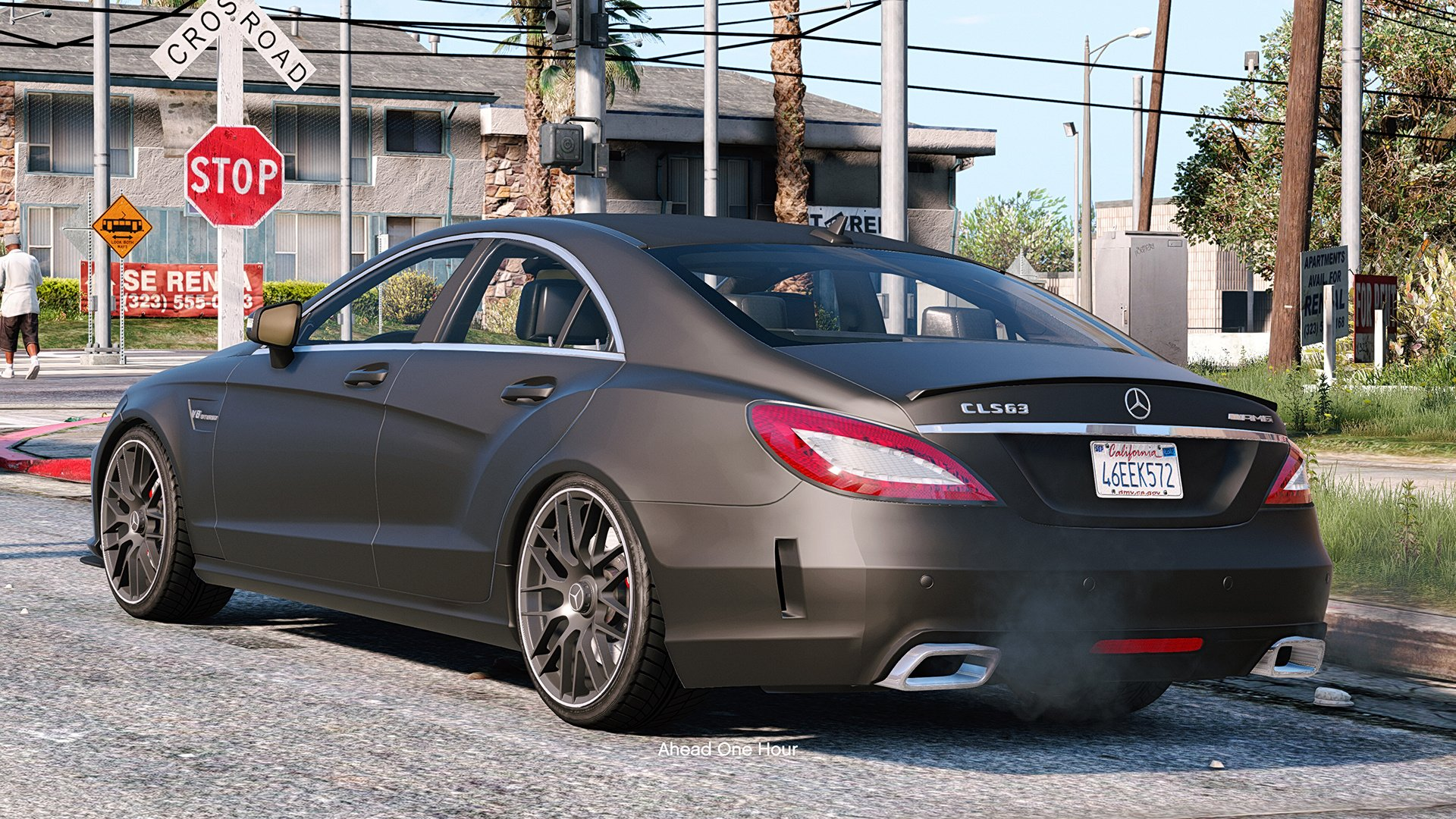 mercedes benz cls 6 3 amg add on gta5. Black Bedroom Furniture Sets. Home Design Ideas