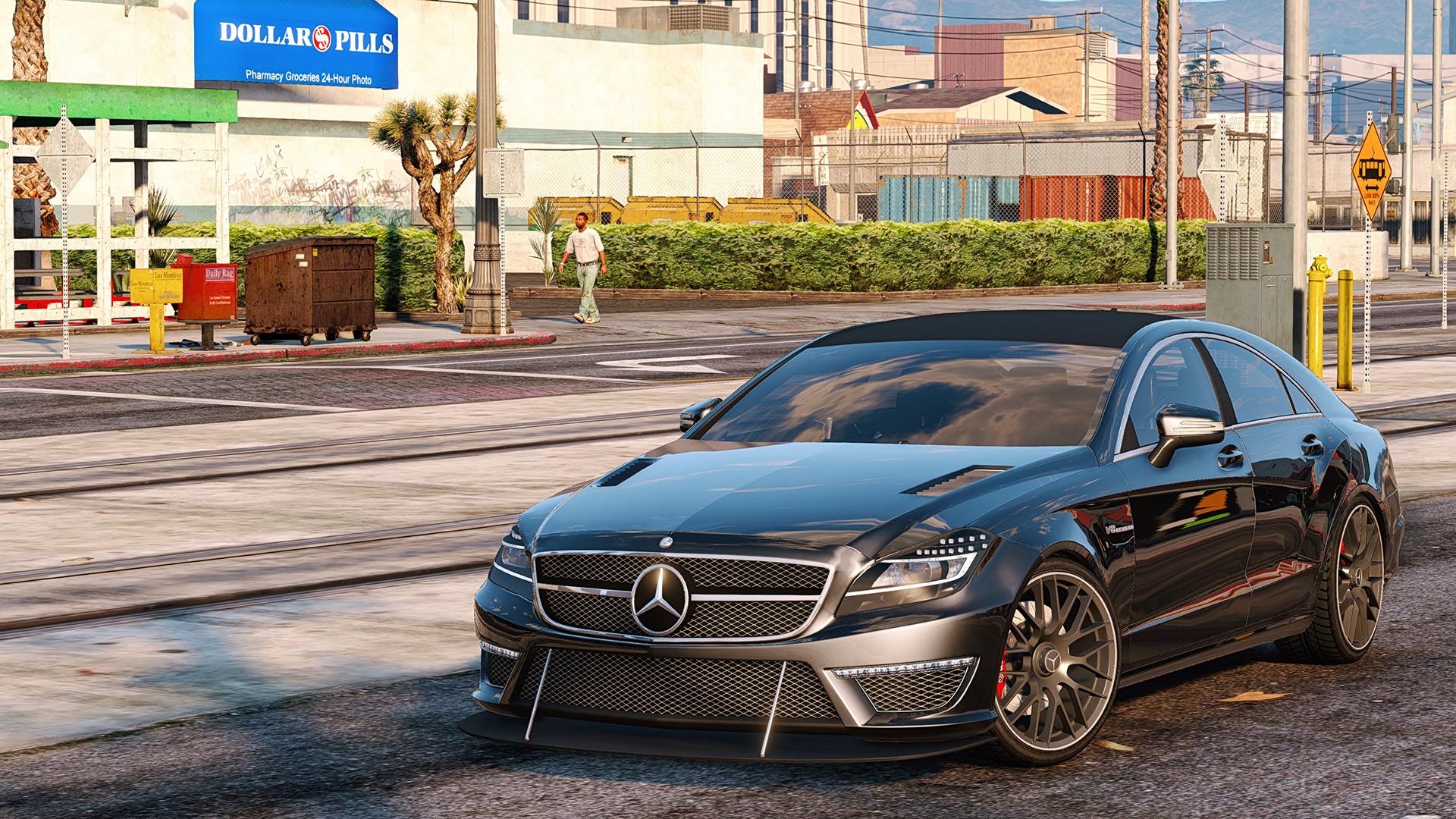 Mercedes Benz CLS 6 3 AMG [Add ] GTA5 Mods