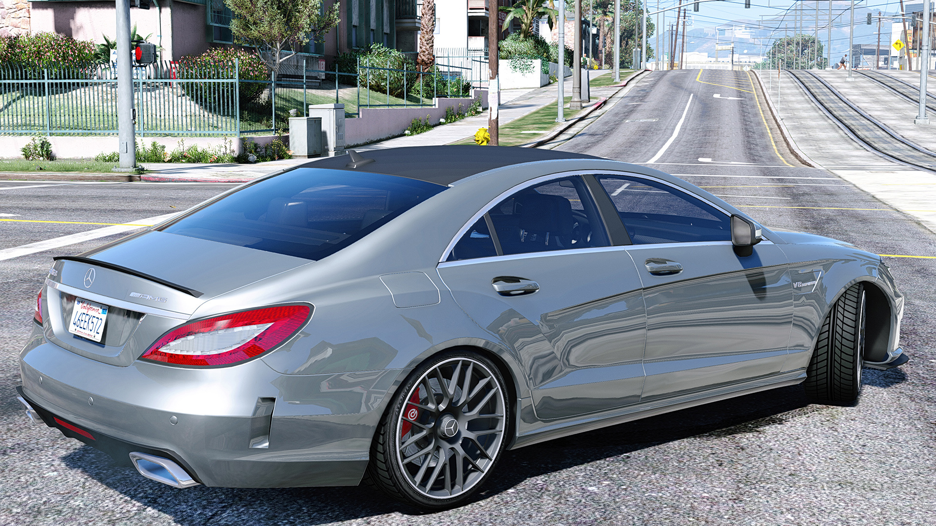 Mercedes Benz Cls 6 3 Amg Add On Gta5