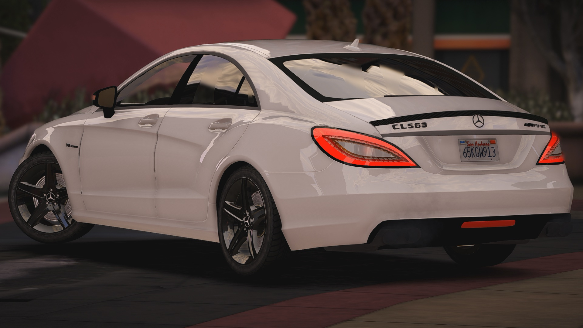 Mercedes Benz CLS 63 AMG [Replace] GTA5 Mods
