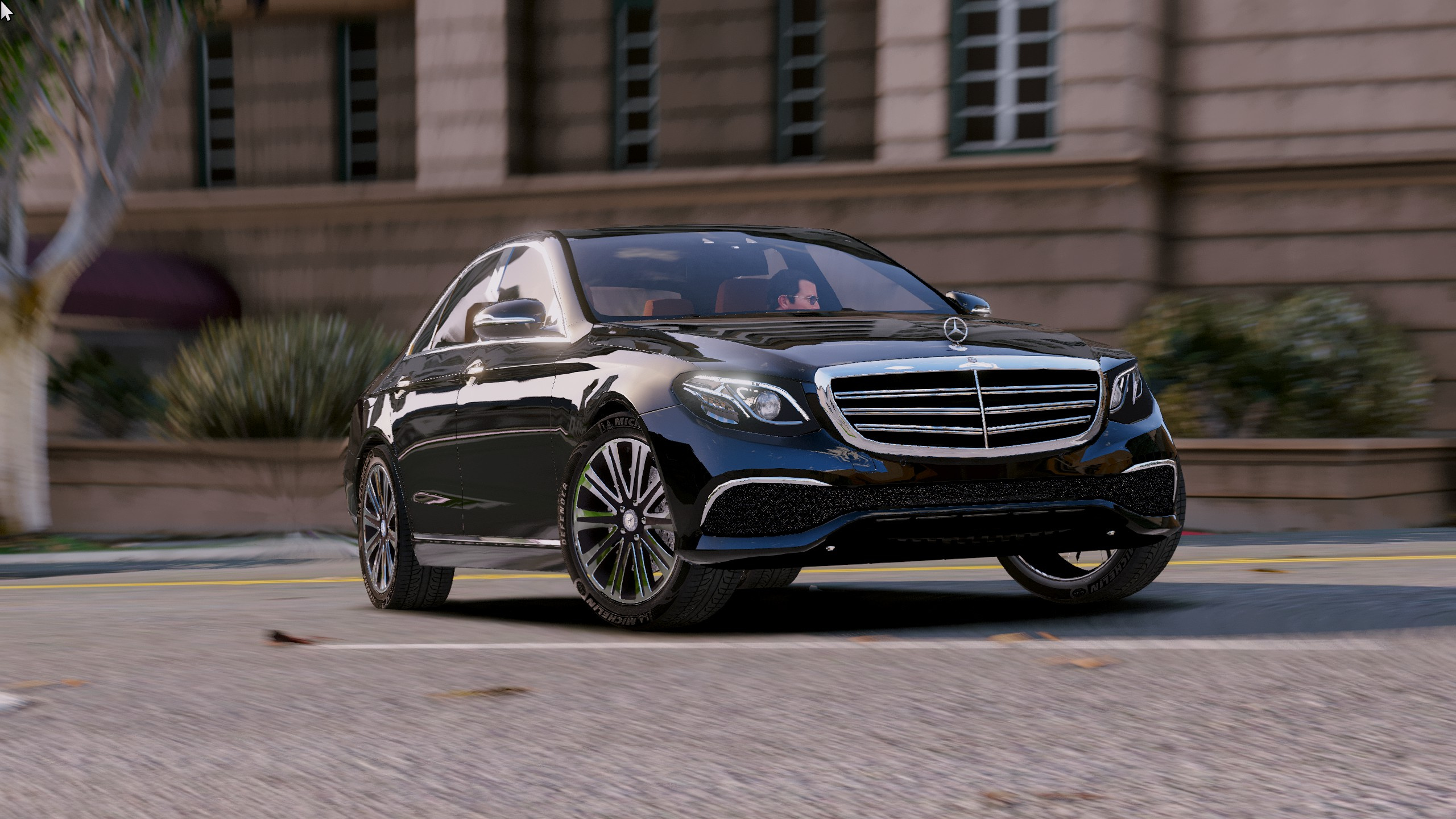 2016 mercedes benz e class e350e gta5 for Mercedes benz e3 50