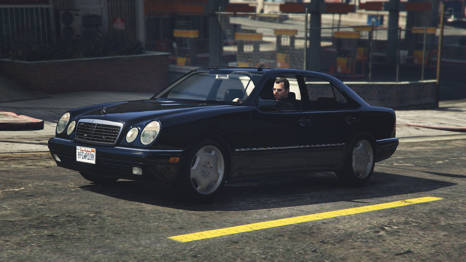 Mercedes benz e420 w210 add on replace gta5 for Mercedes benz gta