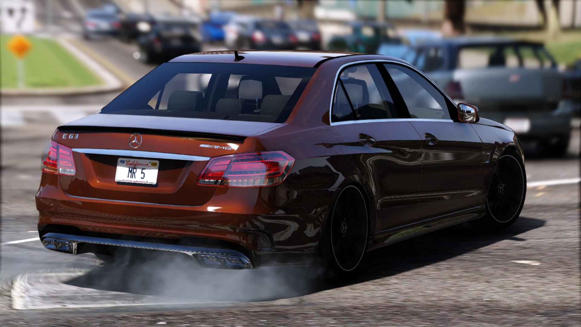 Mercedes Benz E63 AMG [Add Replace] GTA5 Mods