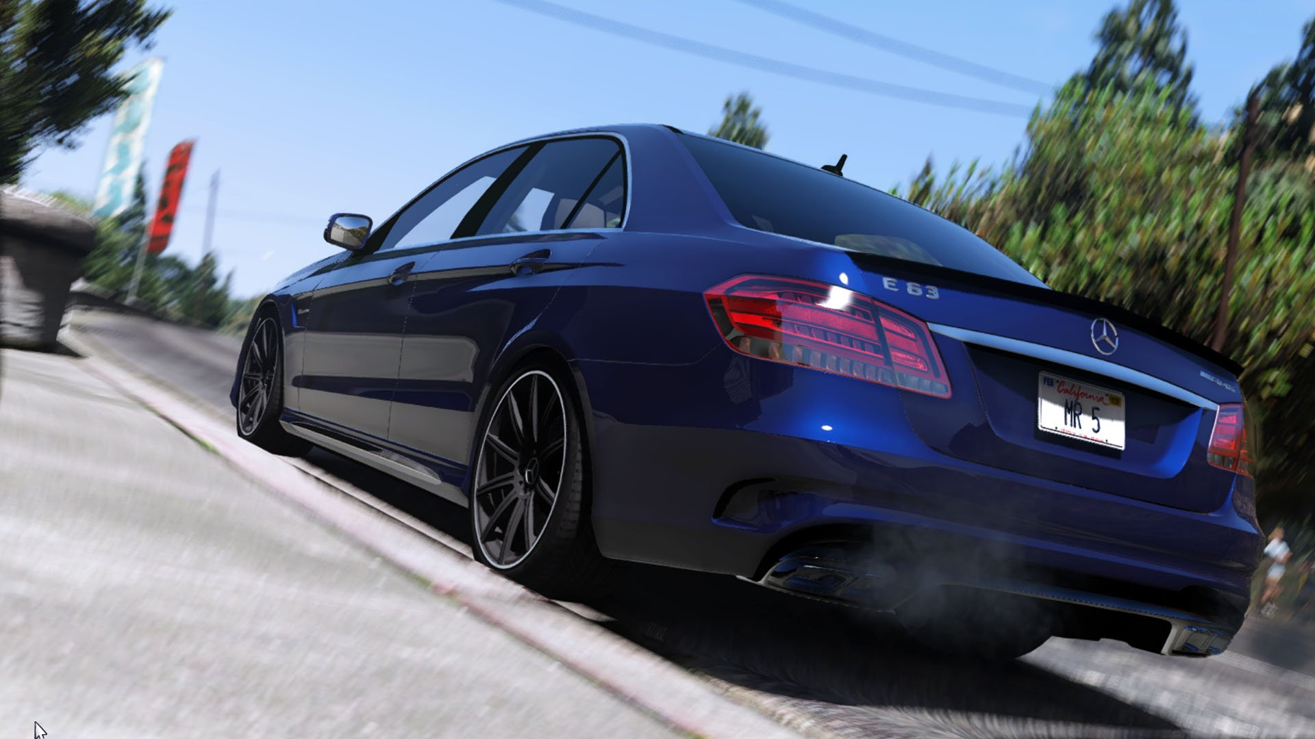 Mercedes benz e63 amg add on replace gta5 for Mercedes benz e 63 amg