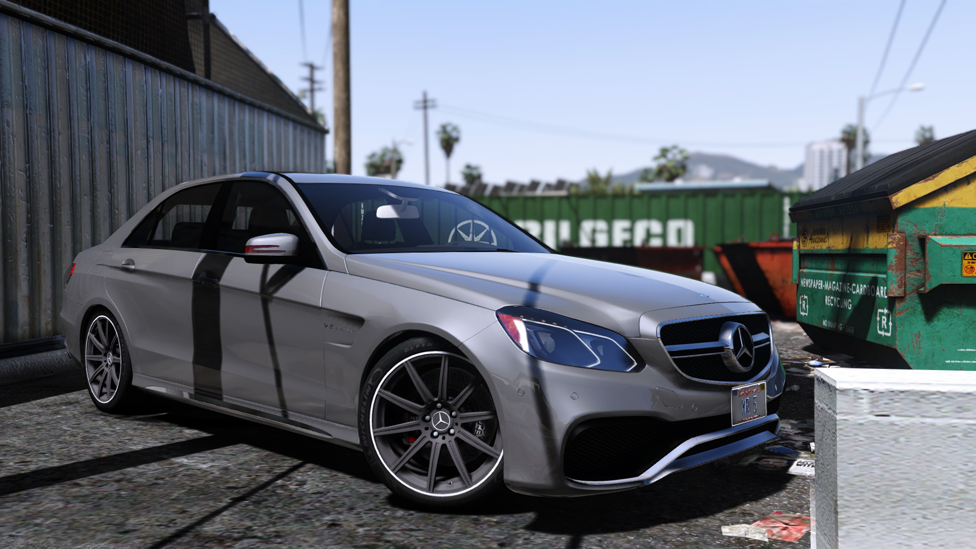 Mercedes Benz E63 Amg Toto907 on gallivanter baller