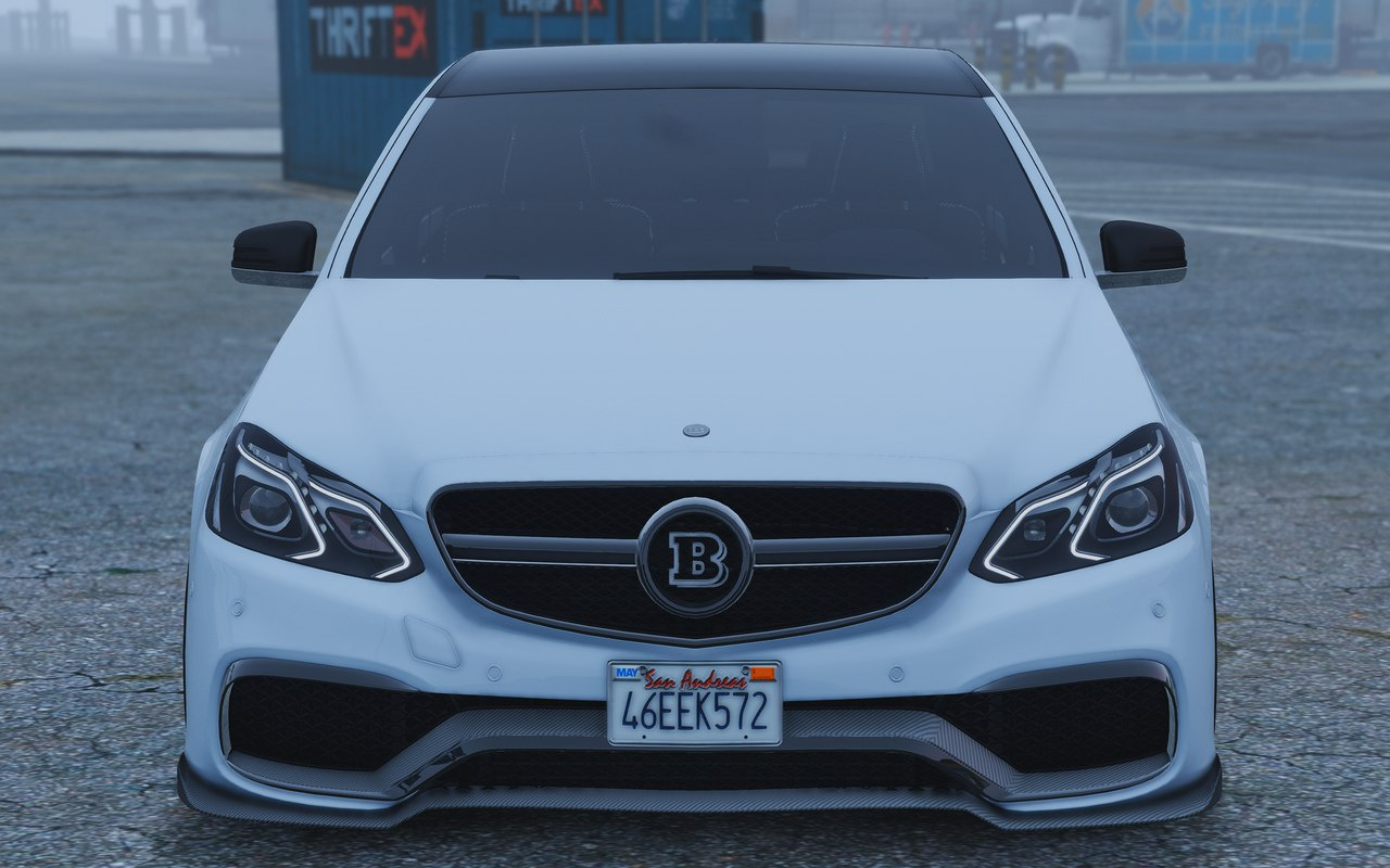 Mercedes benz e63 brabus add on replace gta5 for Mercedes benz add