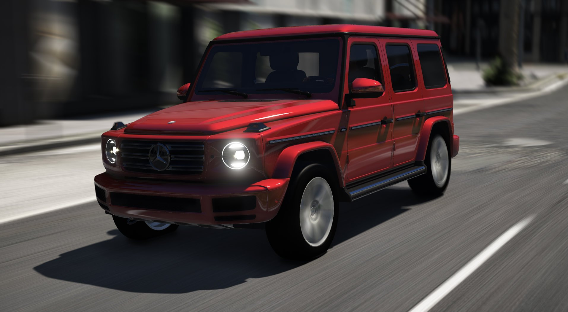 Mercedes Benz G Class 2019 [Add ] GTA5 Mods