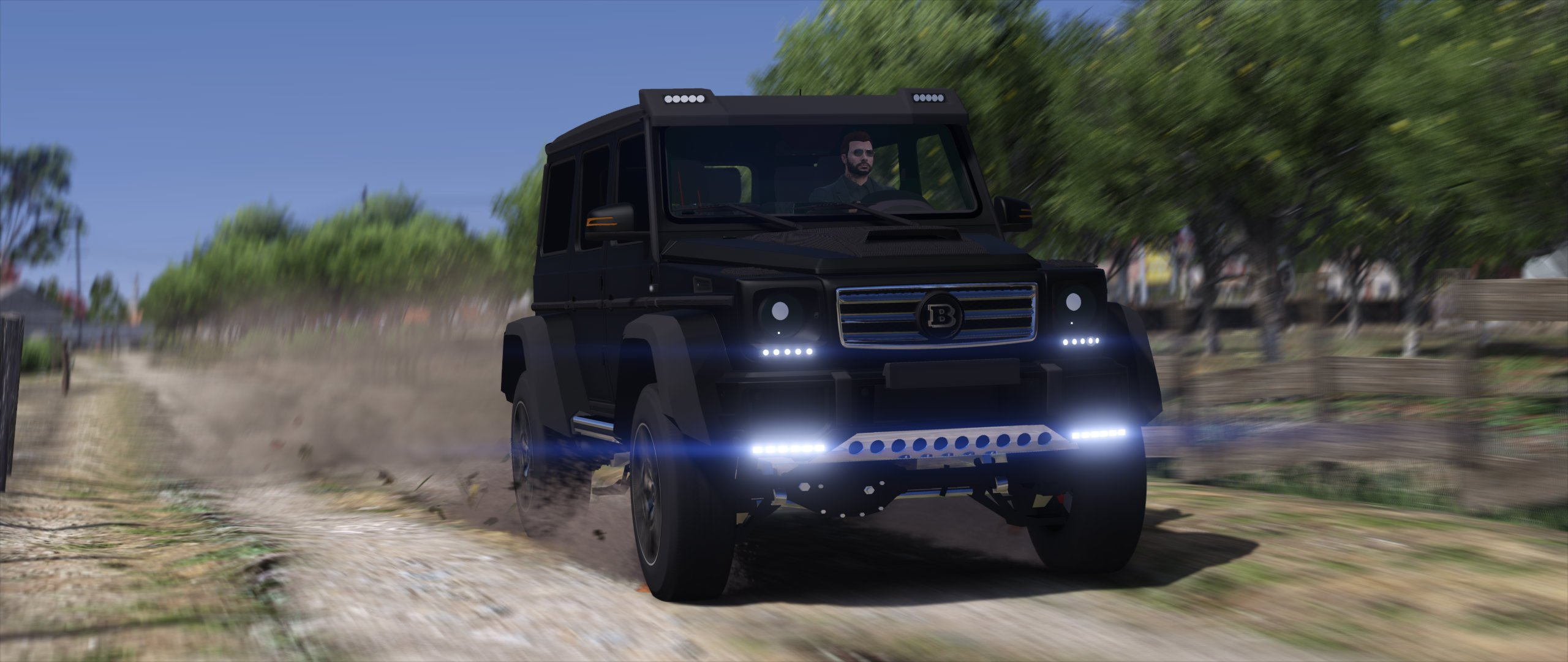 Mercedes-Benz G500 4x4 Brabus [Replace] - GTA5-Mods com